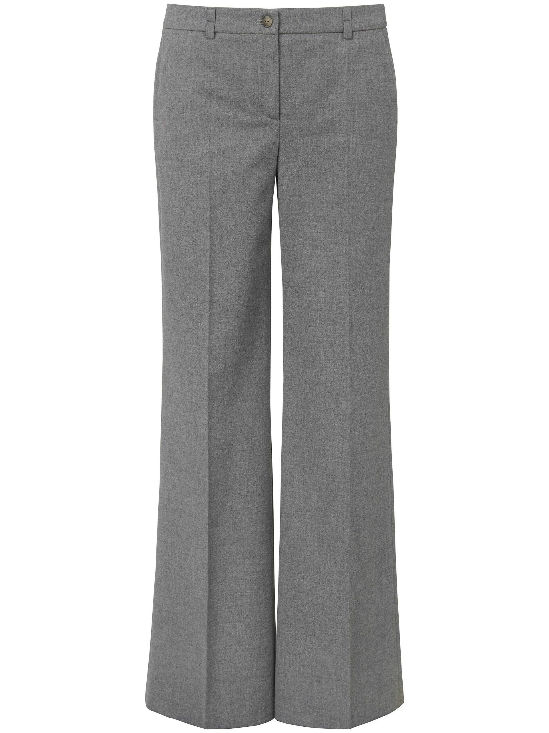 Wide fit-broek Van DAY.LIKE grijs Kopen