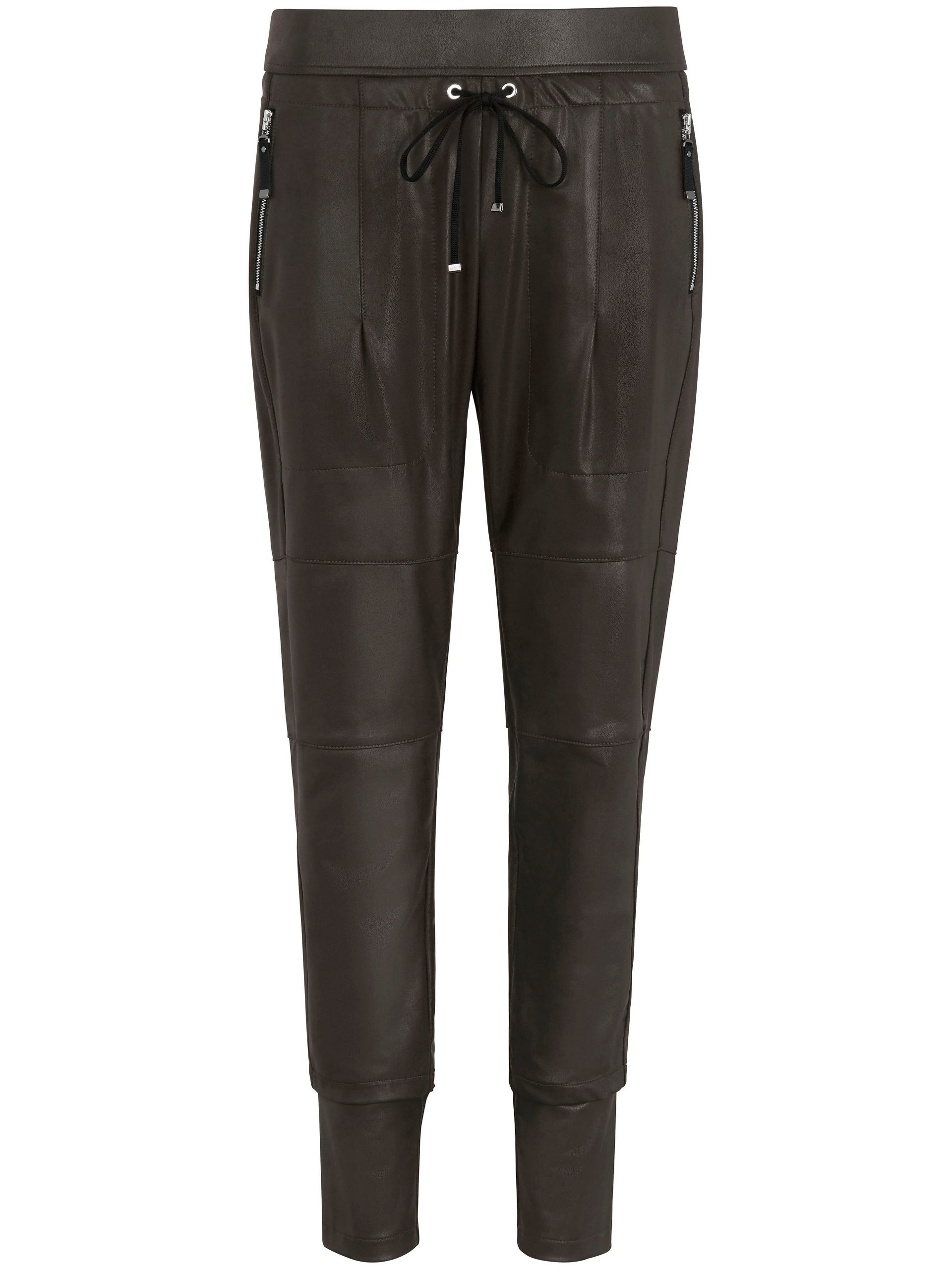 Enkellange broek, model Candy Van Raffaello Rossi groen Kopen