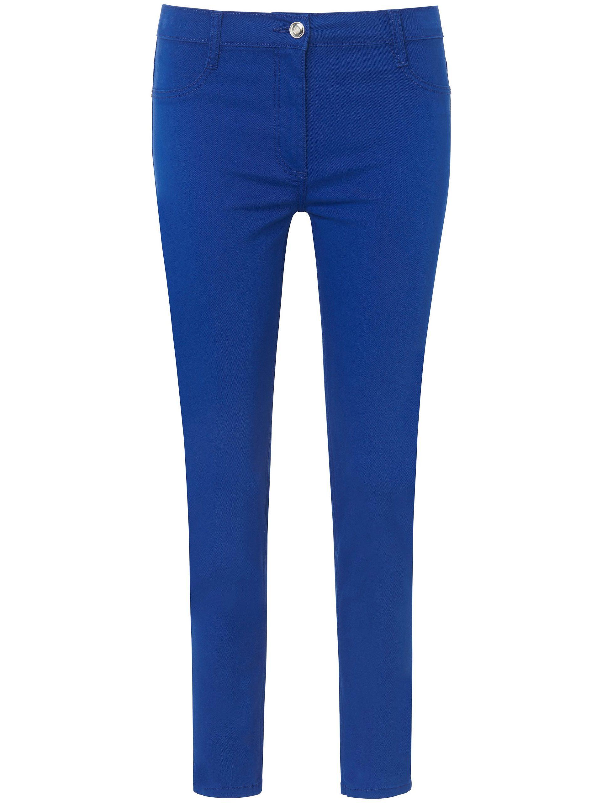 Broek in smal model Van Betty Barclay blauw Kopen