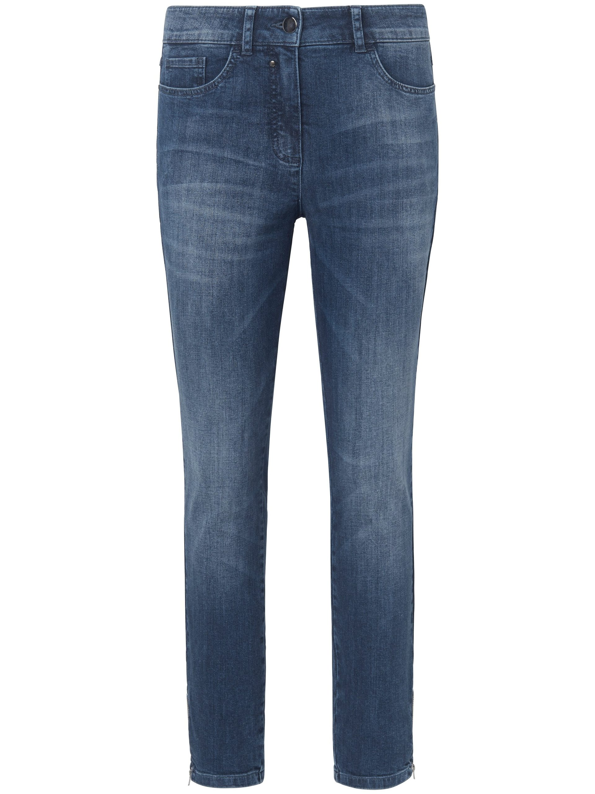 Enkellange jeans met smalle pijpen Van MYBC denim Kopen