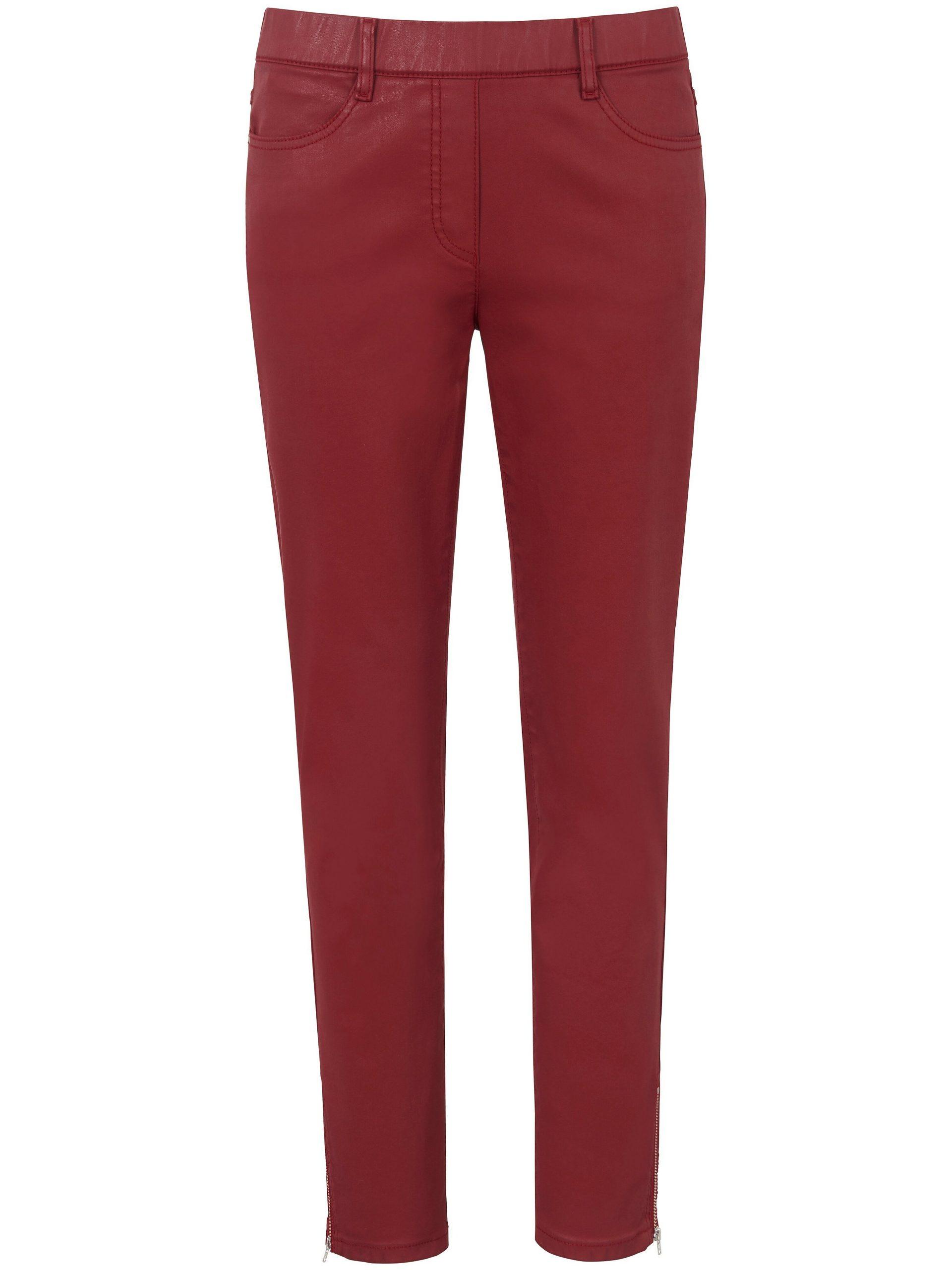 Enkellange broek Van DAY.LIKE rood Kopen