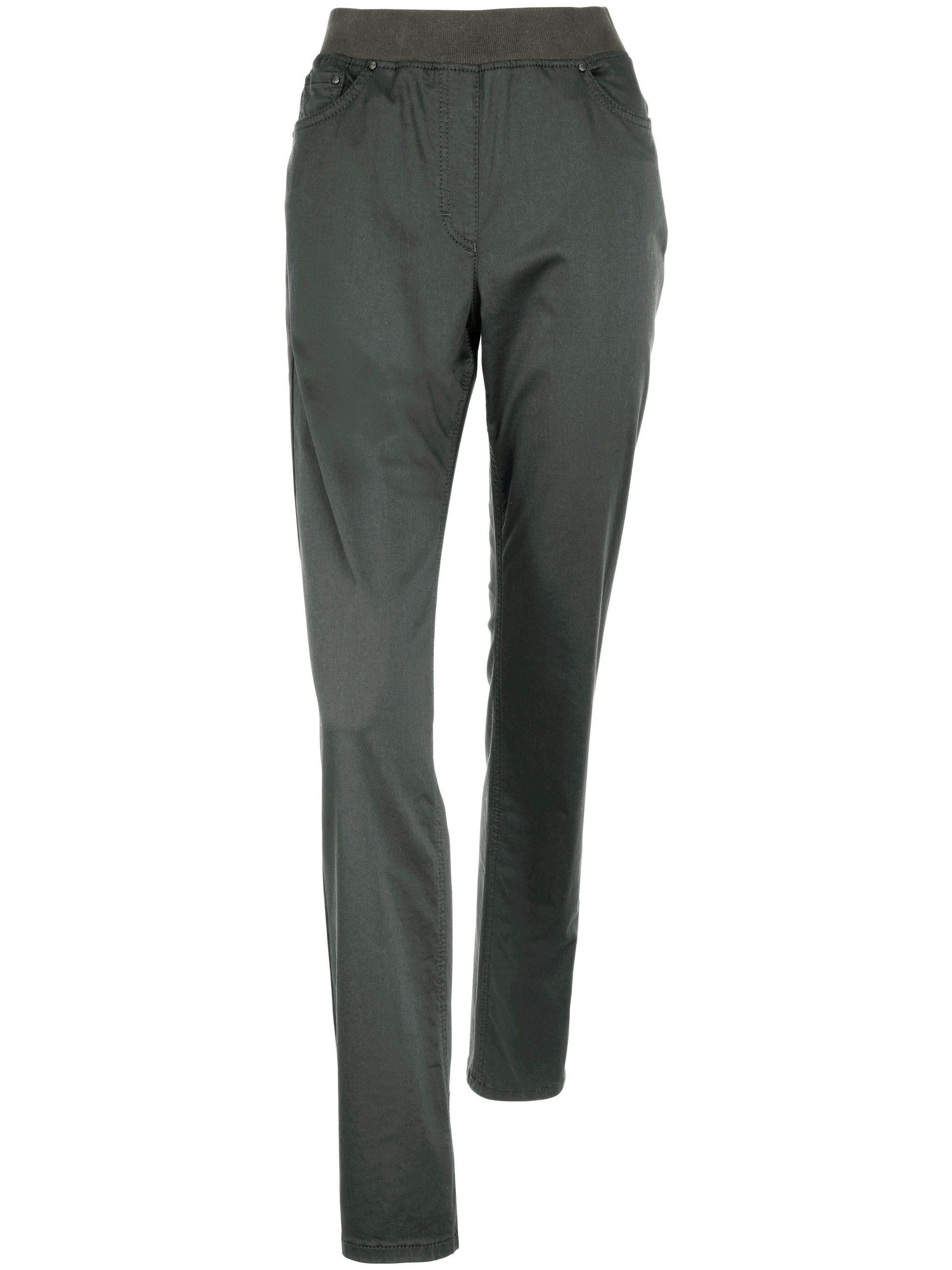 Comfort Plus-broek, model Carina Van Raphaela by Brax groen Kopen