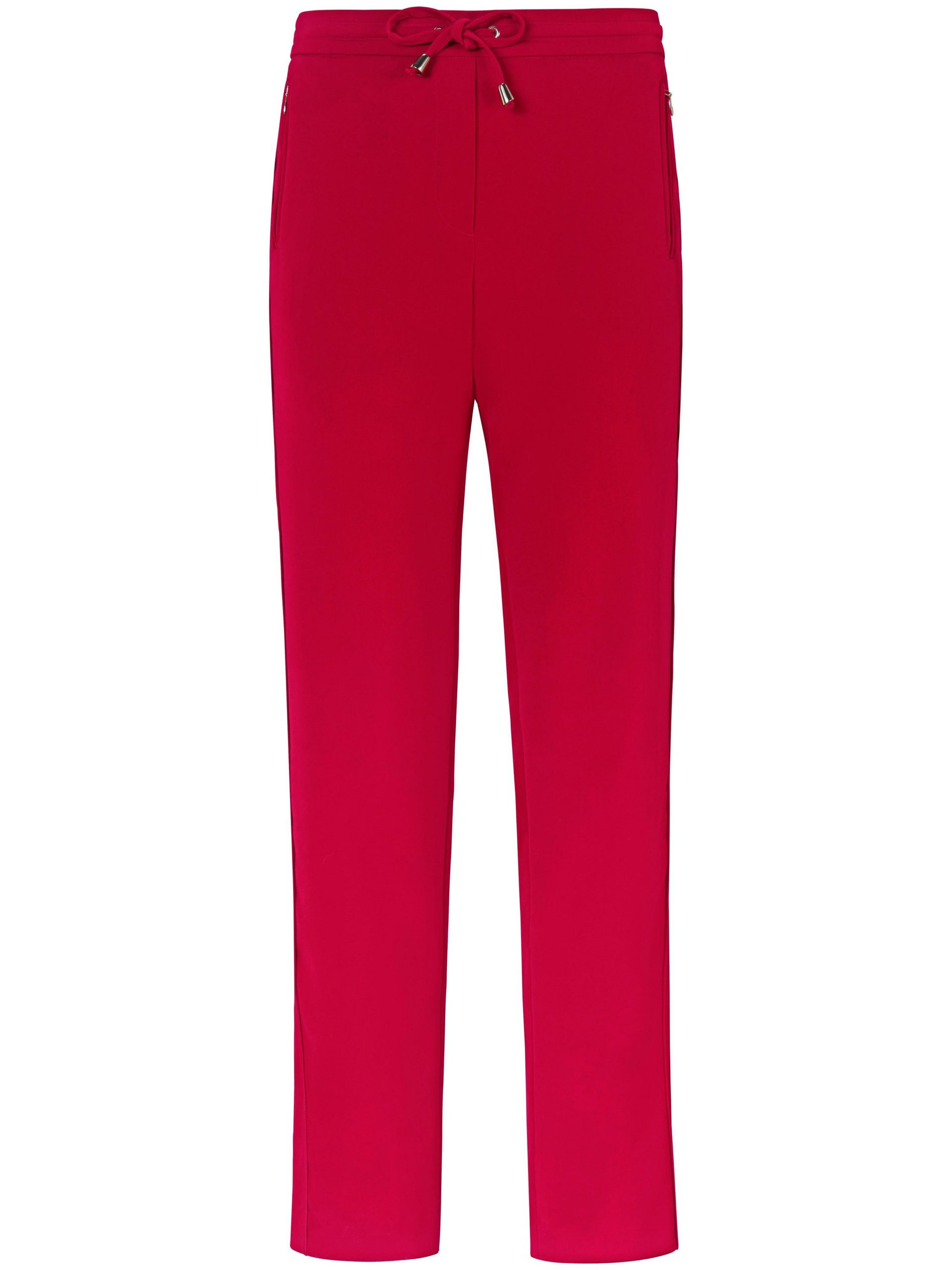 Enkellange broek in jogg-pant-stijl Van DAY.LIKE rood Kopen