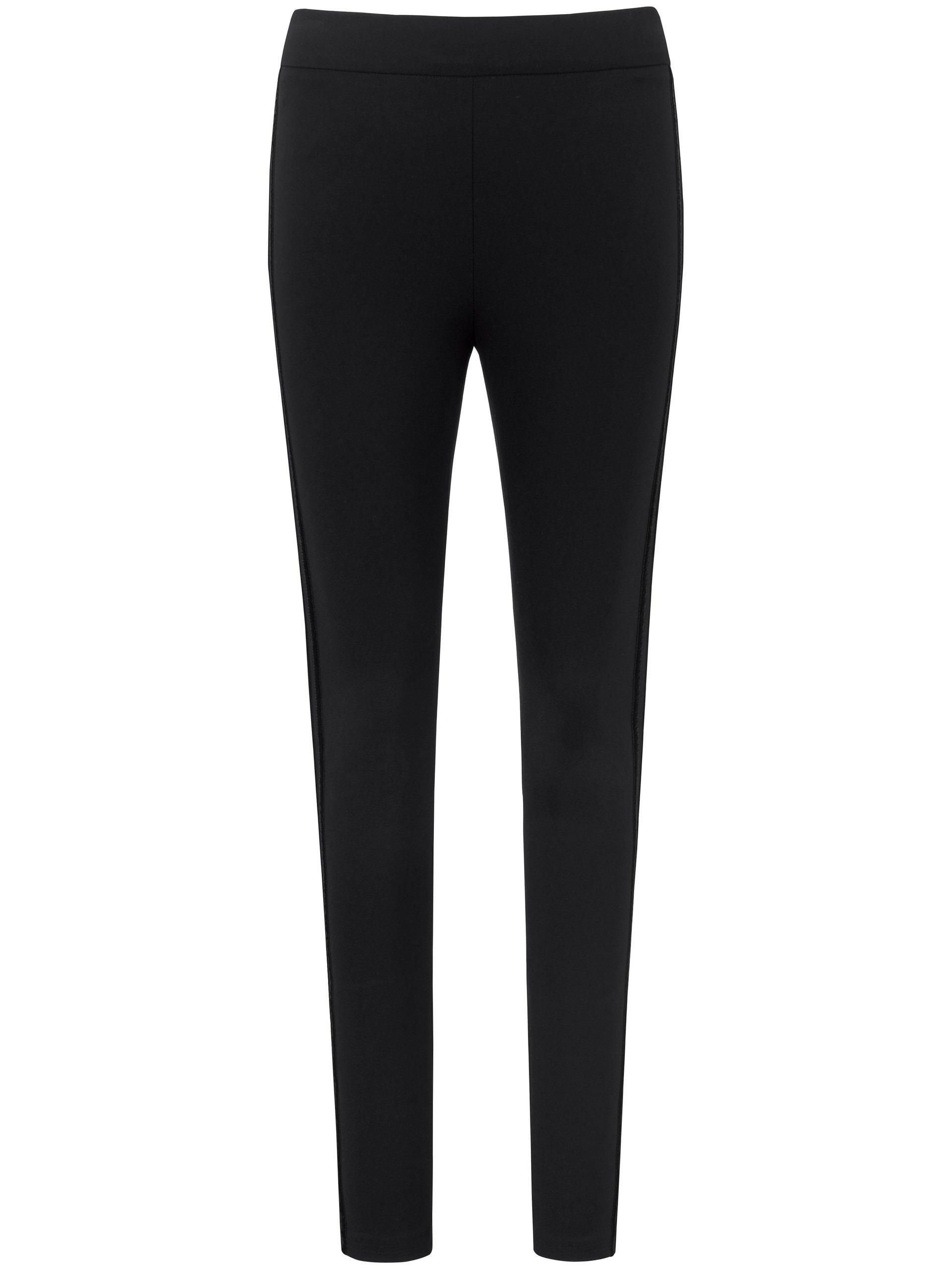 Jersey-comfortbroek pasvorm Sylvia Van MYBC zwart Kopen