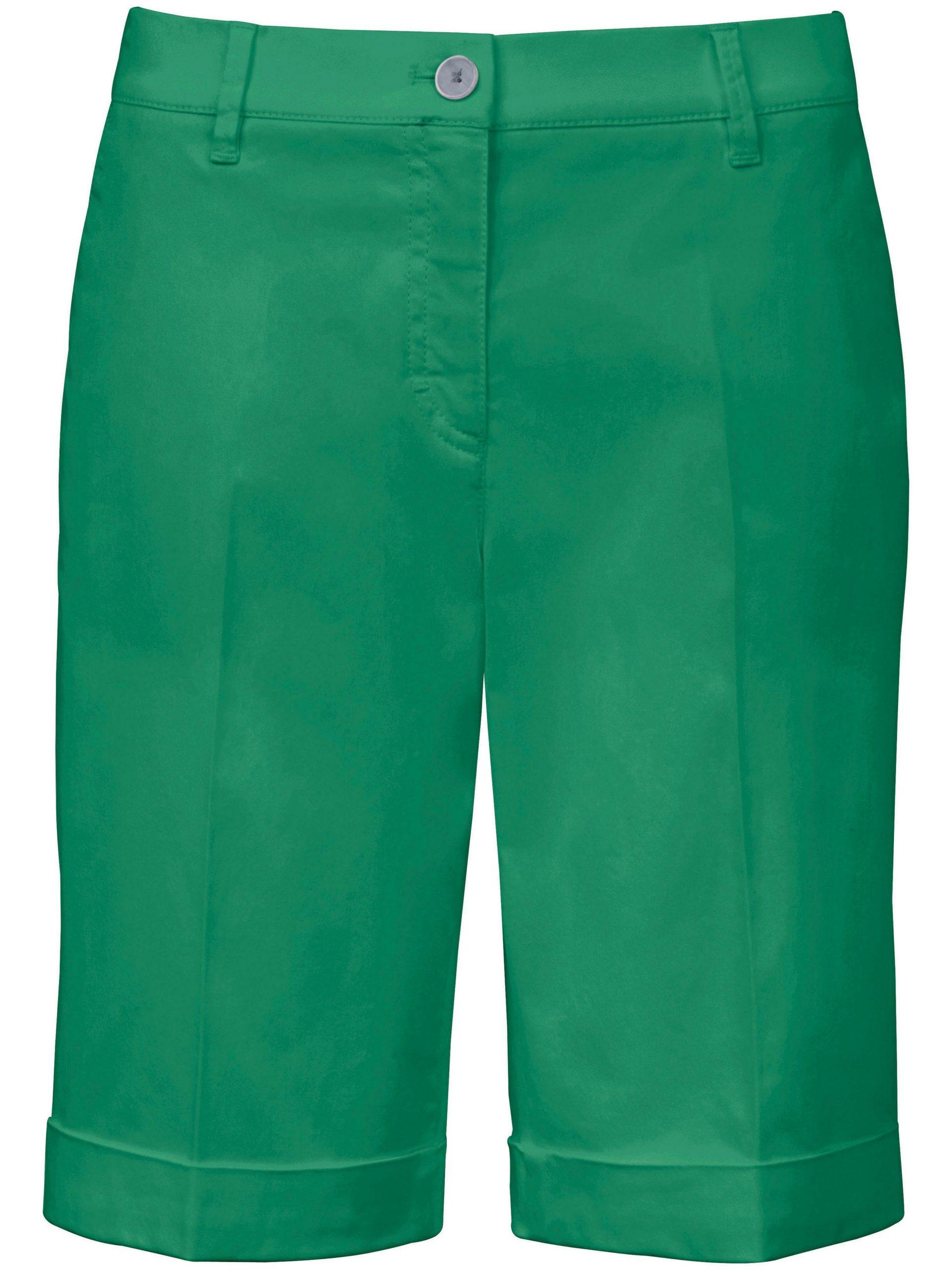 Modern Fit-bermuda model Mia Van Brax Feel Good groen Kopen