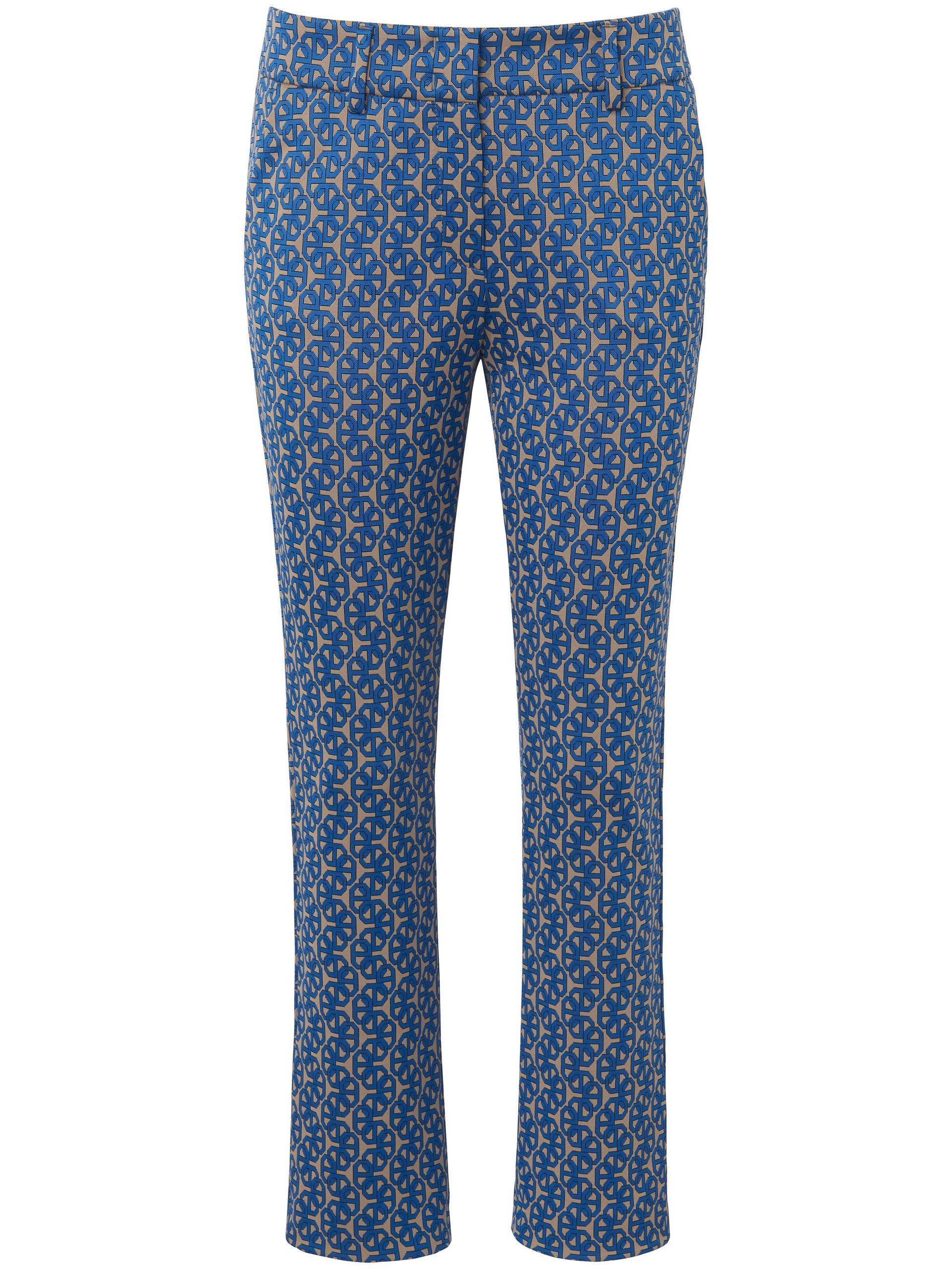 7/8-jerseybroek model Dora Cropped Van Raffaello Rossi blauw Kopen