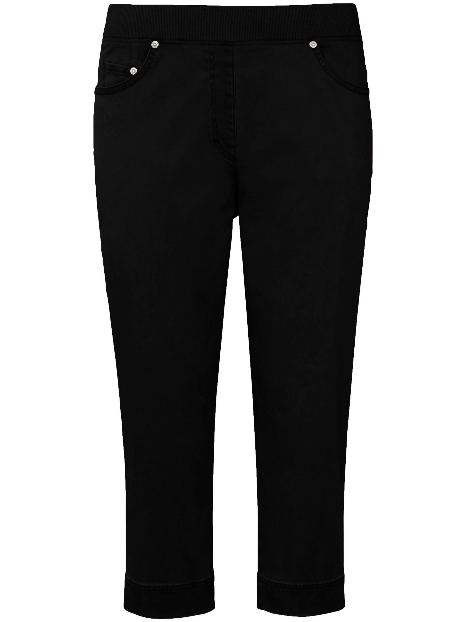 ProForm Slim-capribroek model Pamona Van Raphaela by Brax zwart Kopen