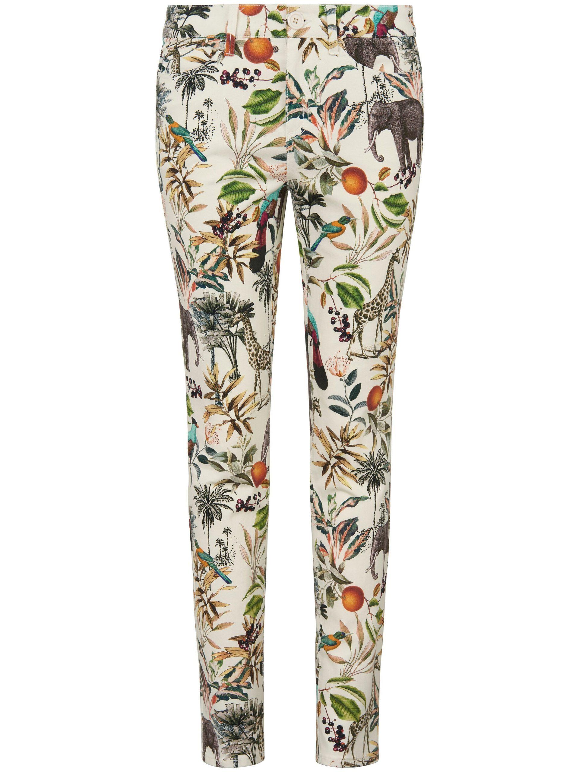Jeans pasvorm Barbara Van MYBC wit Kopen