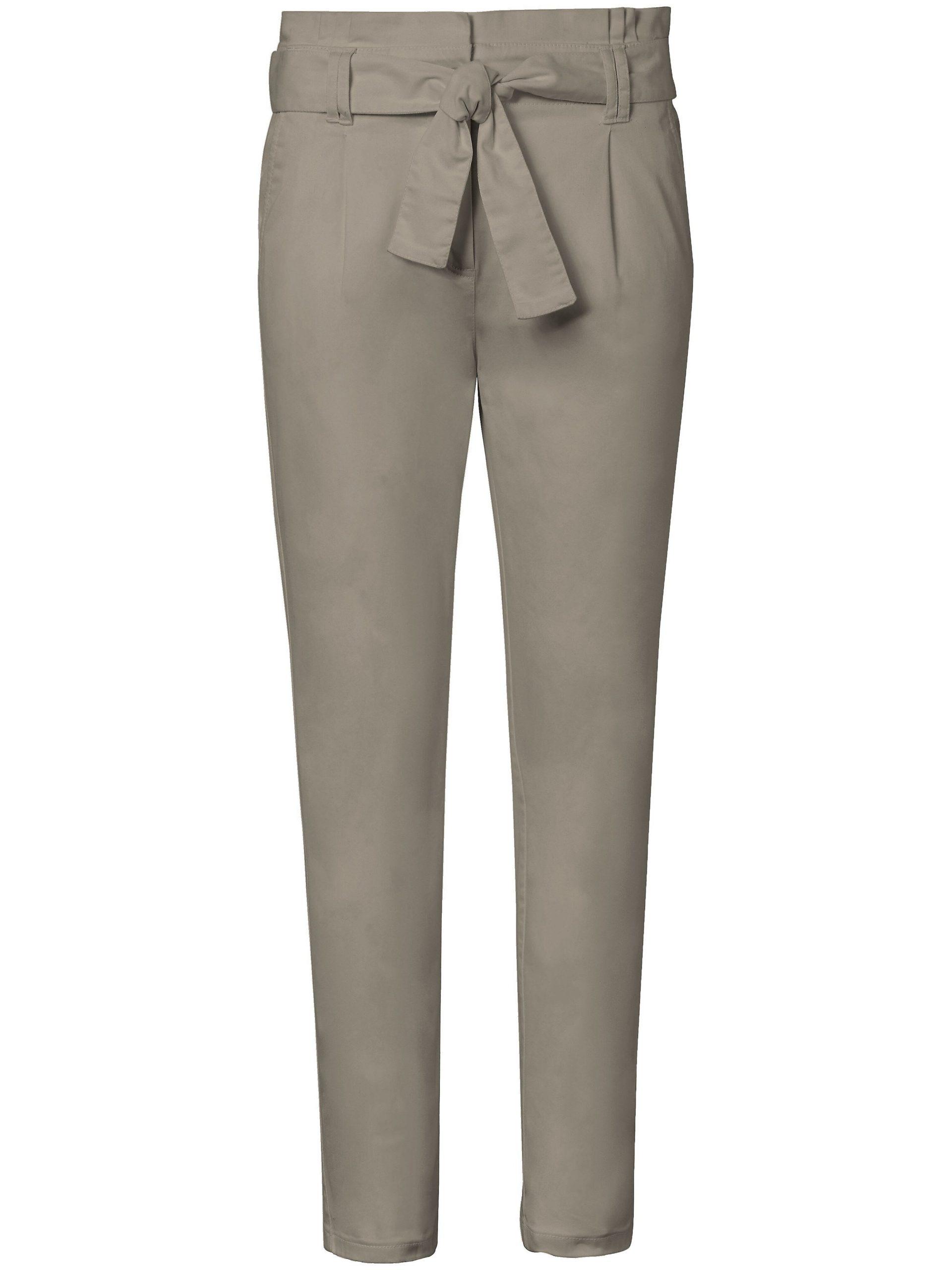 Enkellange broek pasvorm Barbara Van MYBC groen Kopen