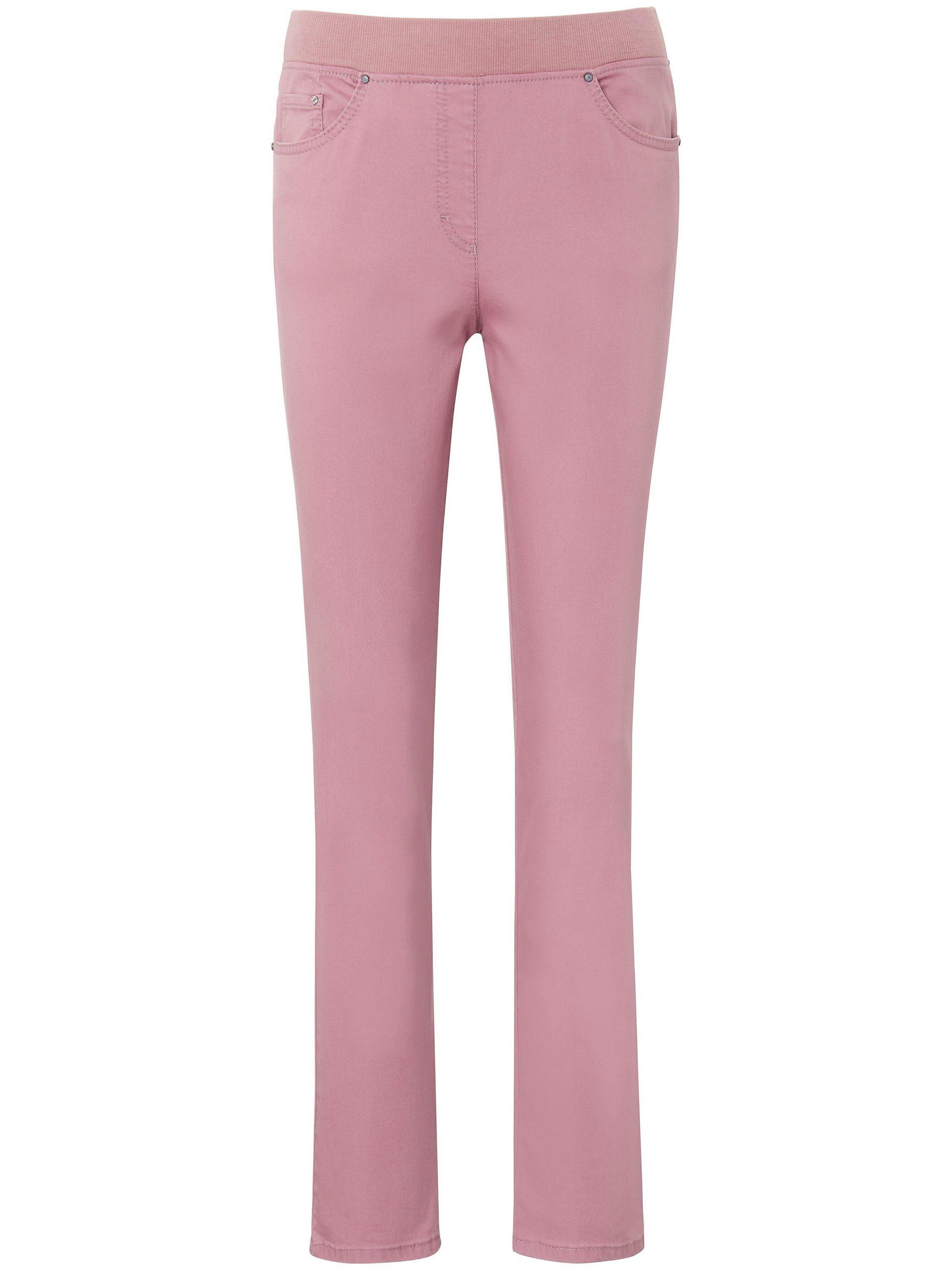 Comfort Plus-jeans model Carina Van Raphaela by Brax paars Kopen