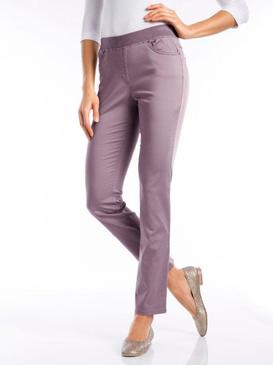Comfort Plus-broek, model Carina Van Raphaela by Brax paars Kopen