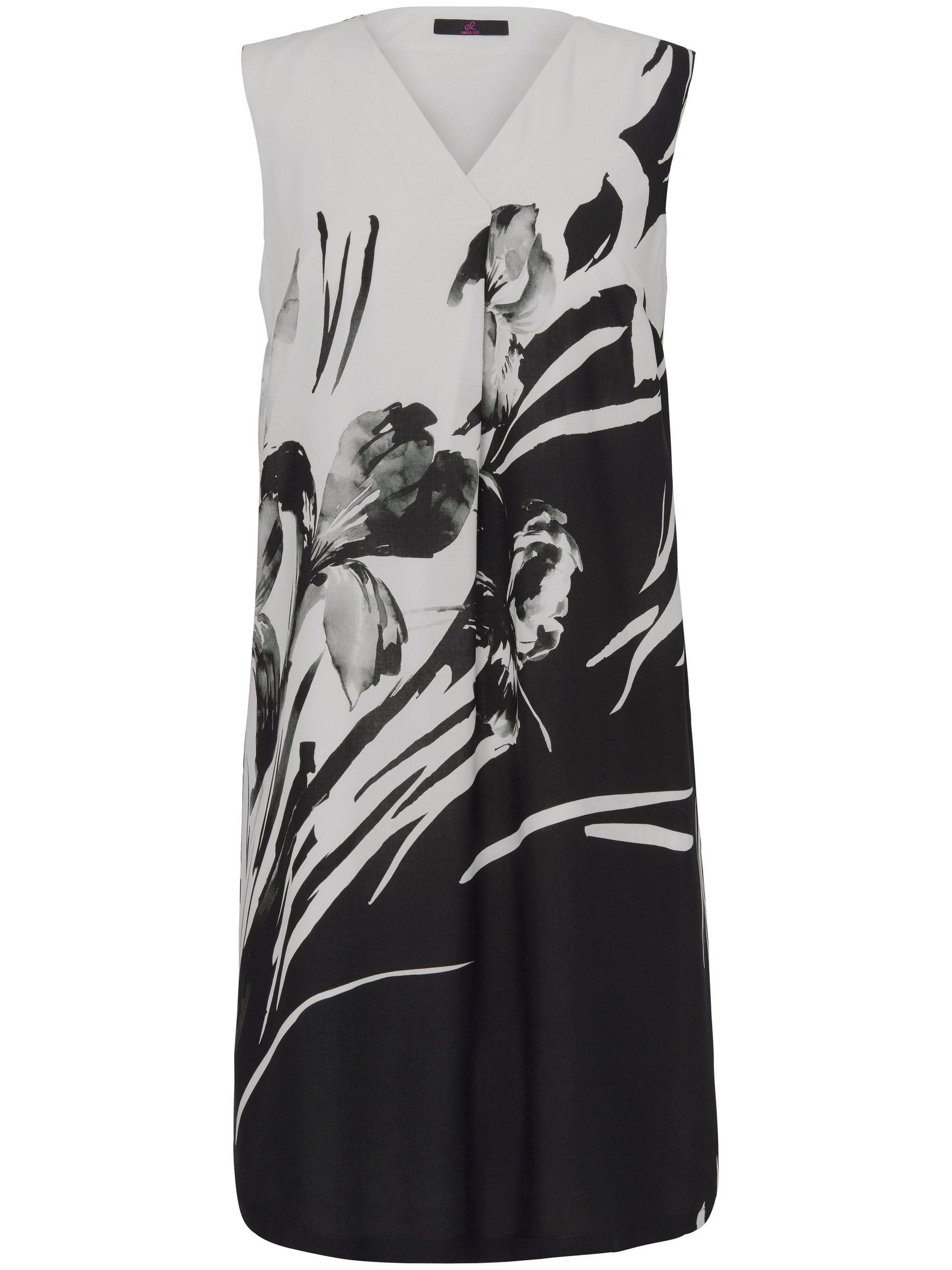 Mouwloze jurk met bloemdessin Van Emilia Lay multicolour Kopen
