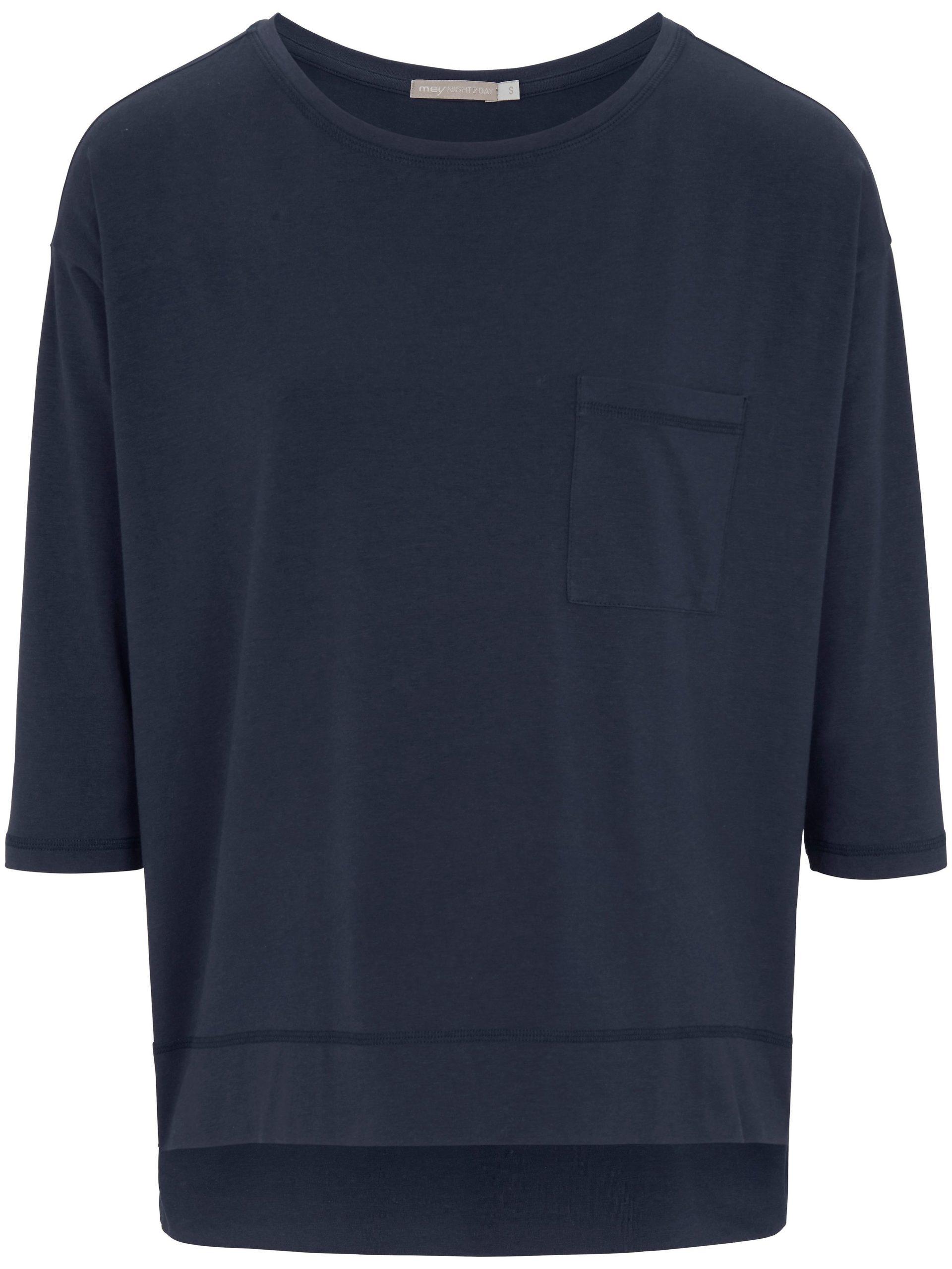 Shirt met ronde hals Van Mey blauw Kopen