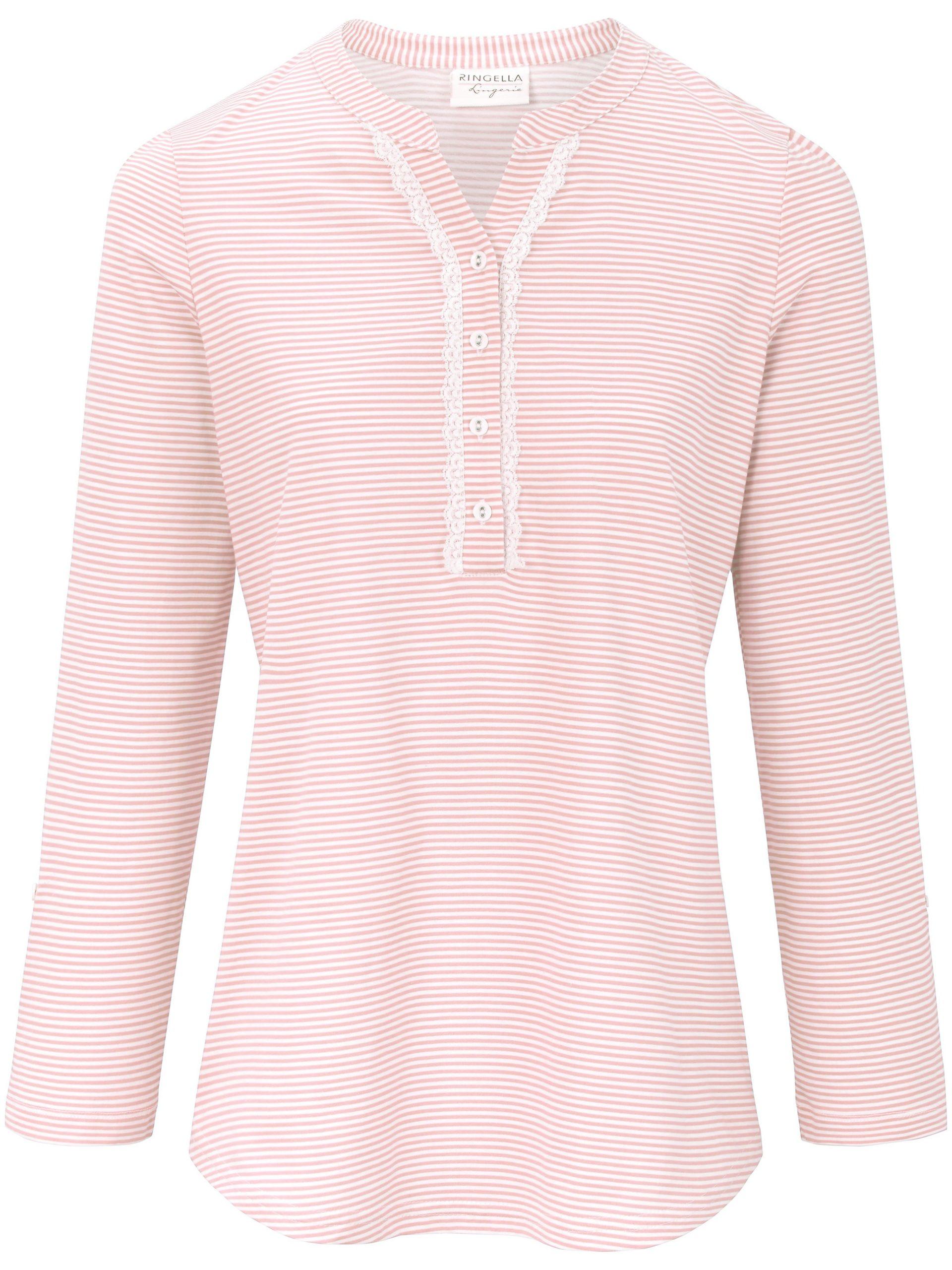 Pyjama van 100% katoen met lange mouwen Van Ringella lichtroze Kopen