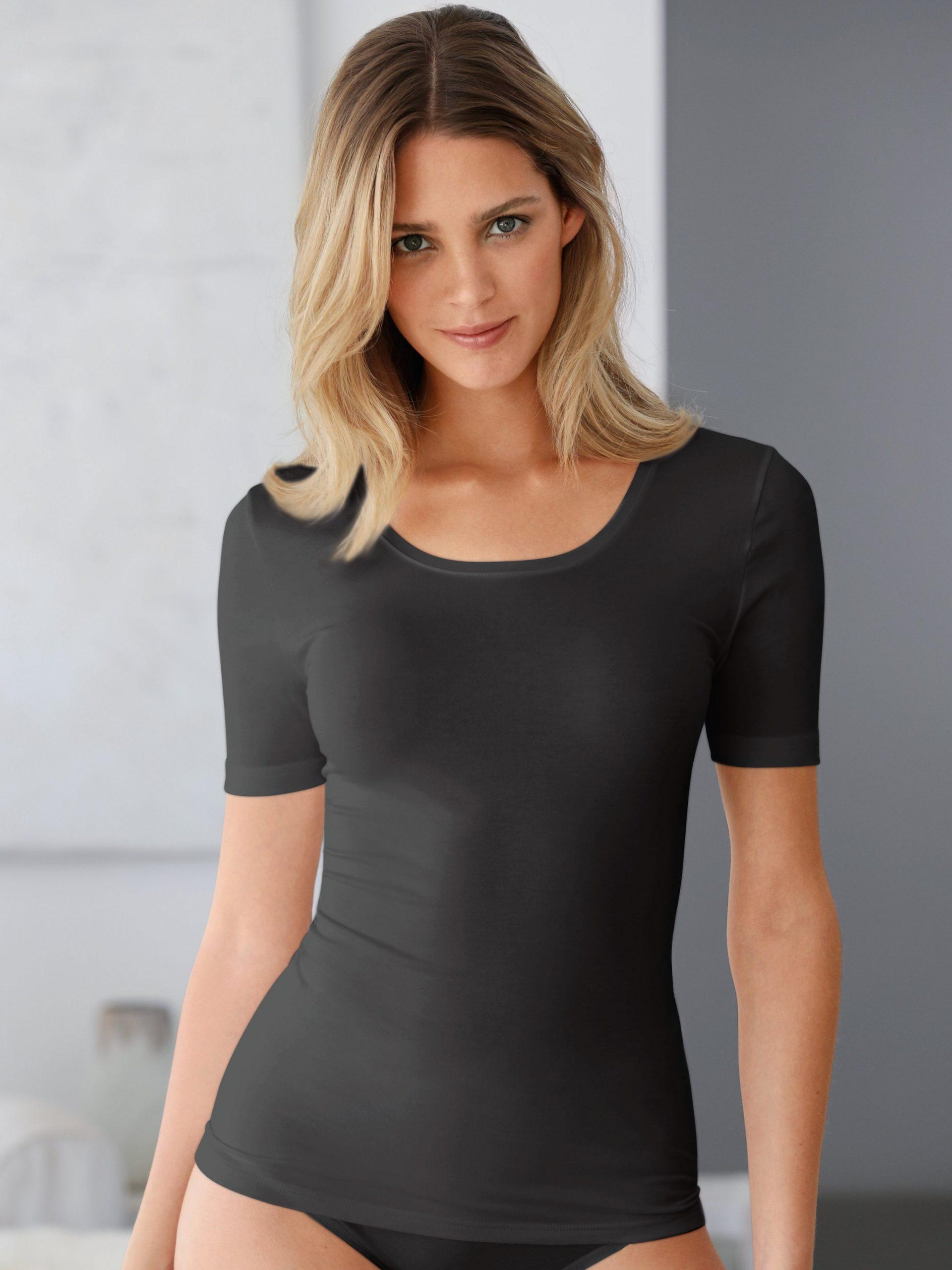 Shirt met korte mouwen en ronde hals Van Speidel zwart Kopen