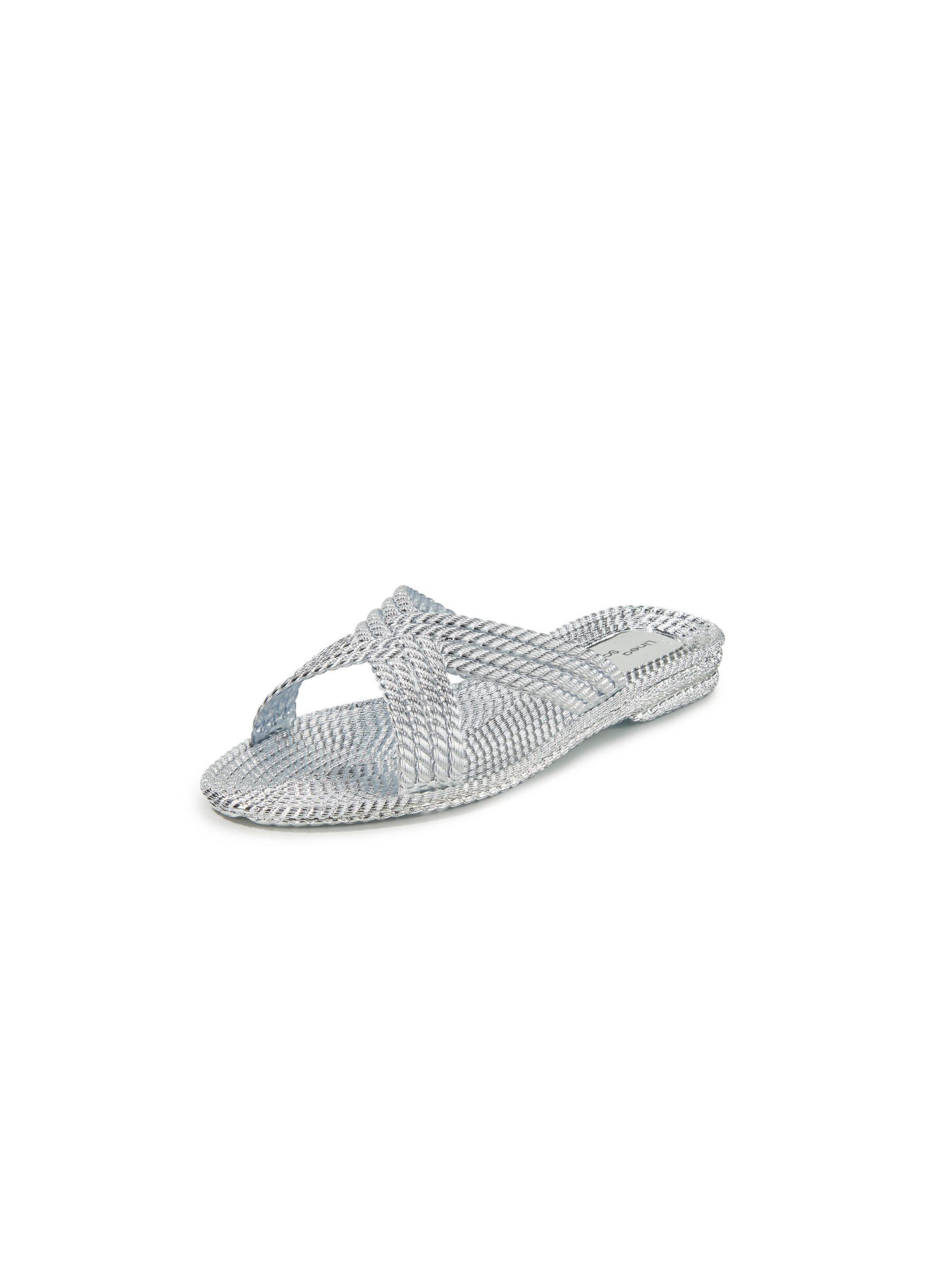 Slippers Van Linea Scarpa zilverkleur Kopen