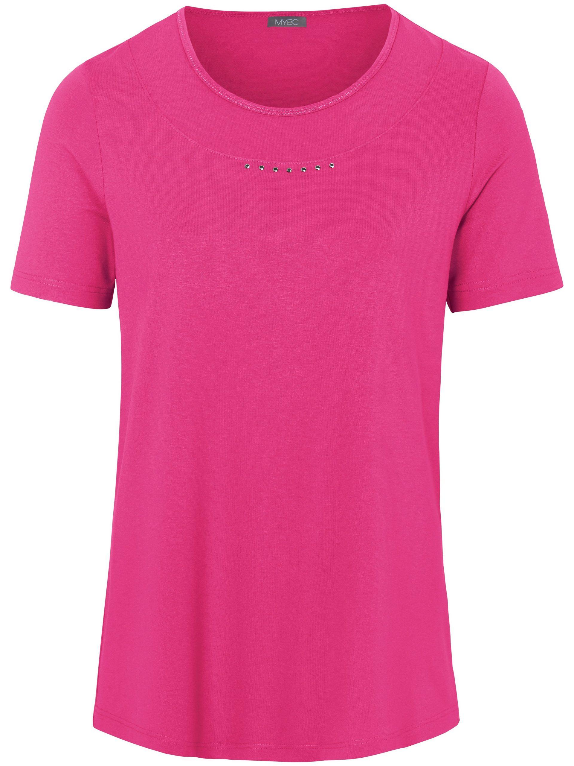 Shirt met ronde hals en korte mouwen Van MYBC roze Kopen