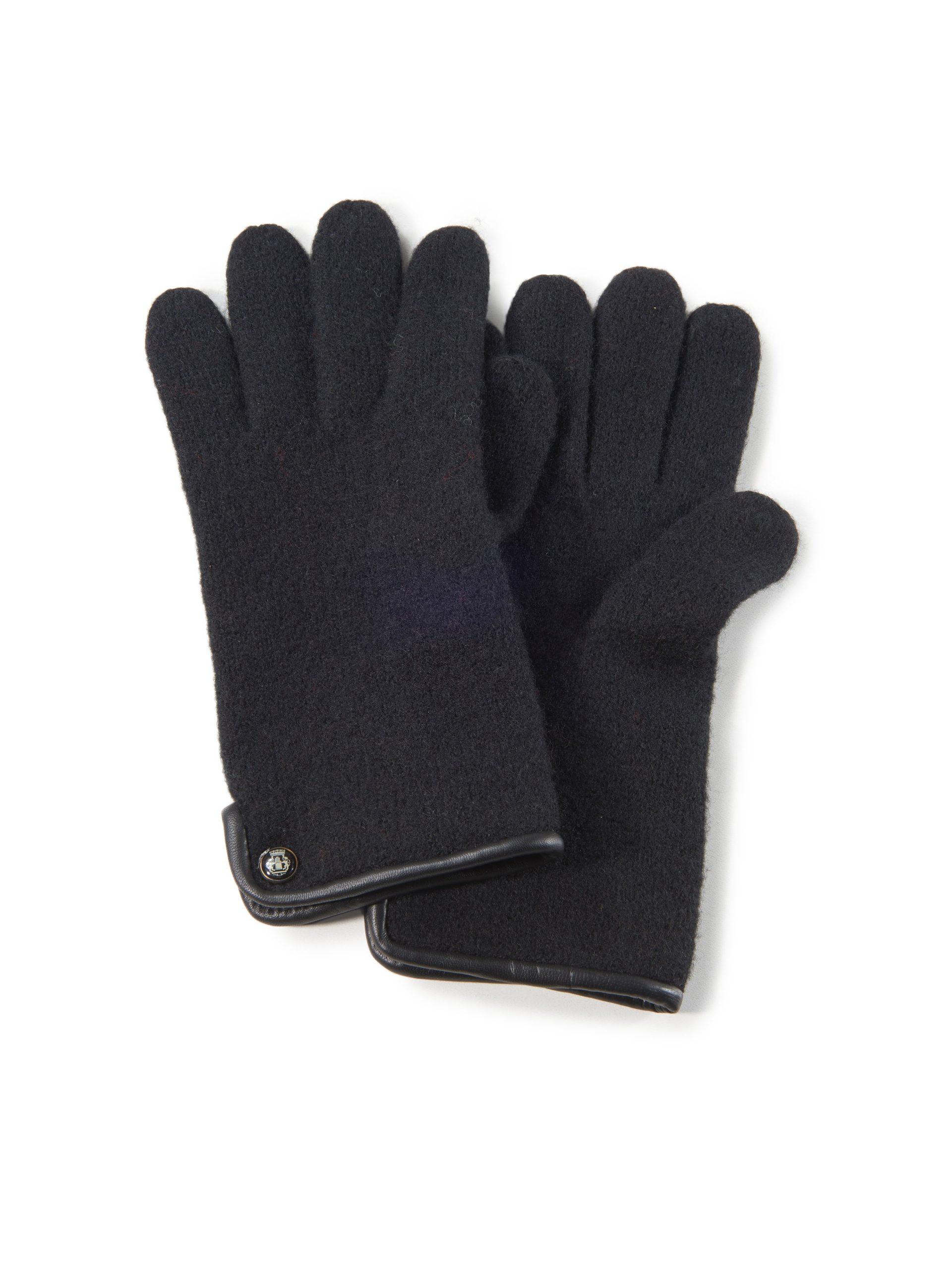 Handschoenen van 100% scheerwol Van Roeckl zwart Kopen