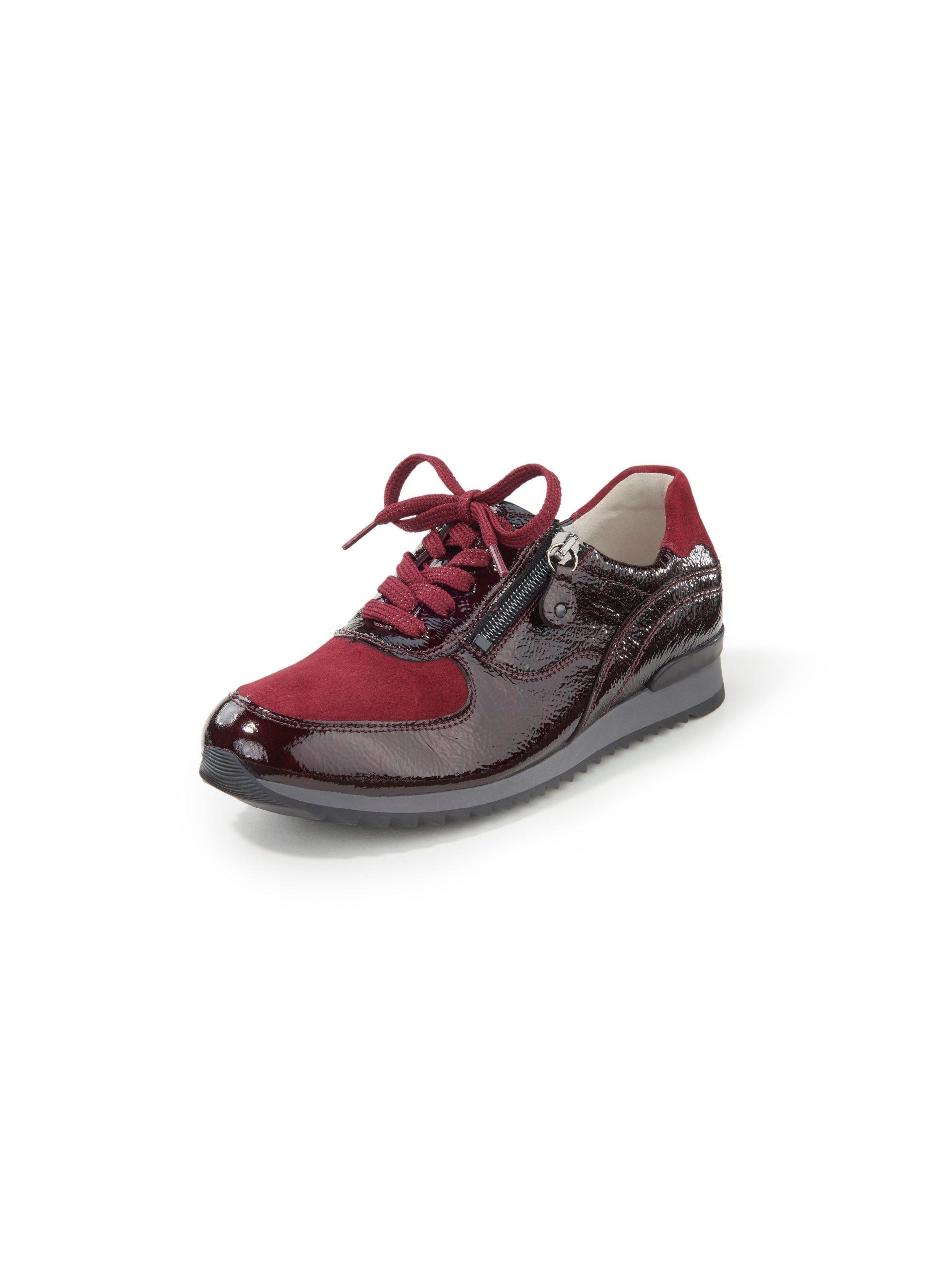 Sneakers Hurly van leer Van Waldläufer rood Kopen