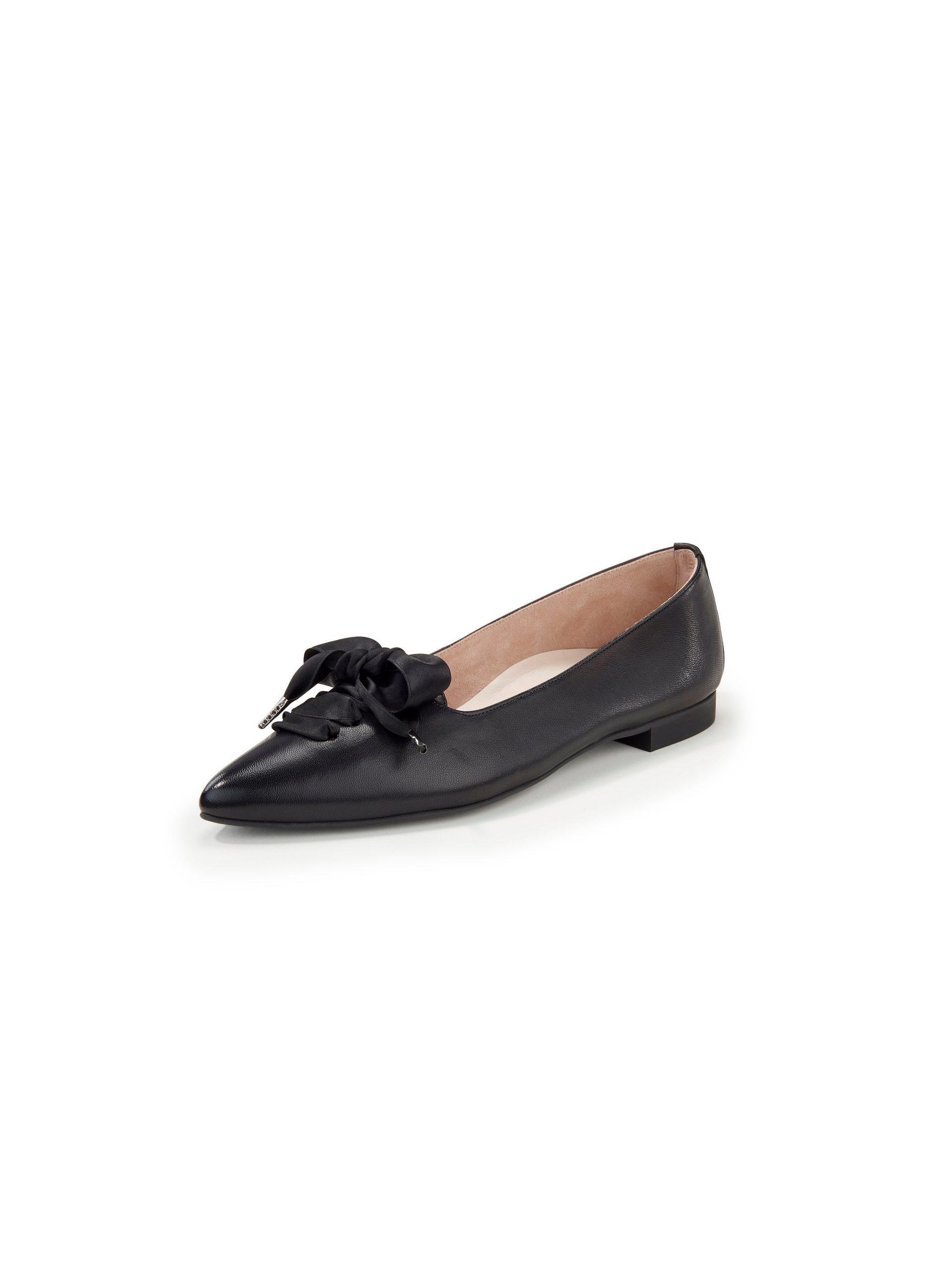 Ballerina's van lamsnappaleer Van Paul Green zwart Kopen