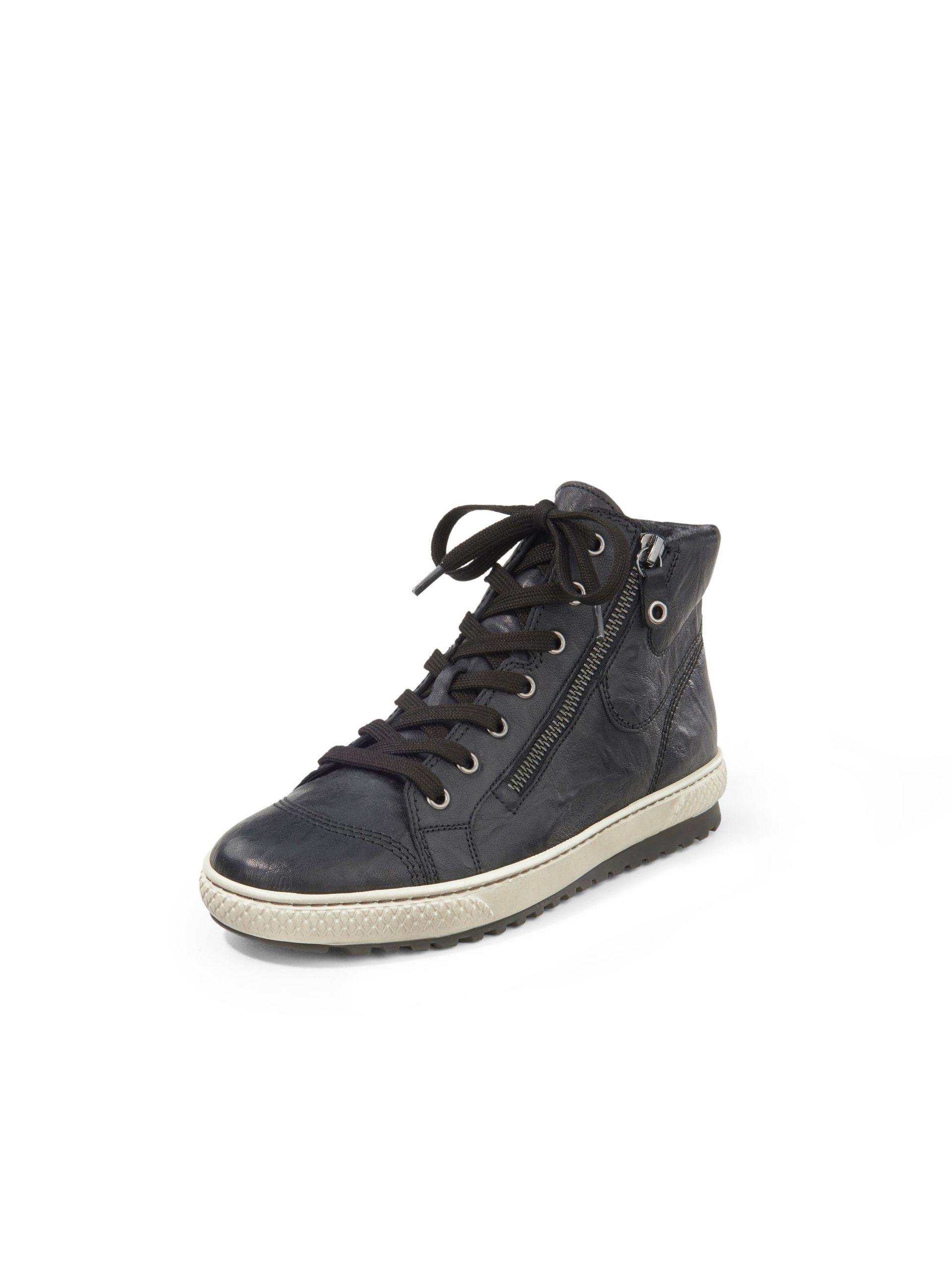 Sneakers van schaapsnappaleer met rubberzool Van Gabor zwart Kopen