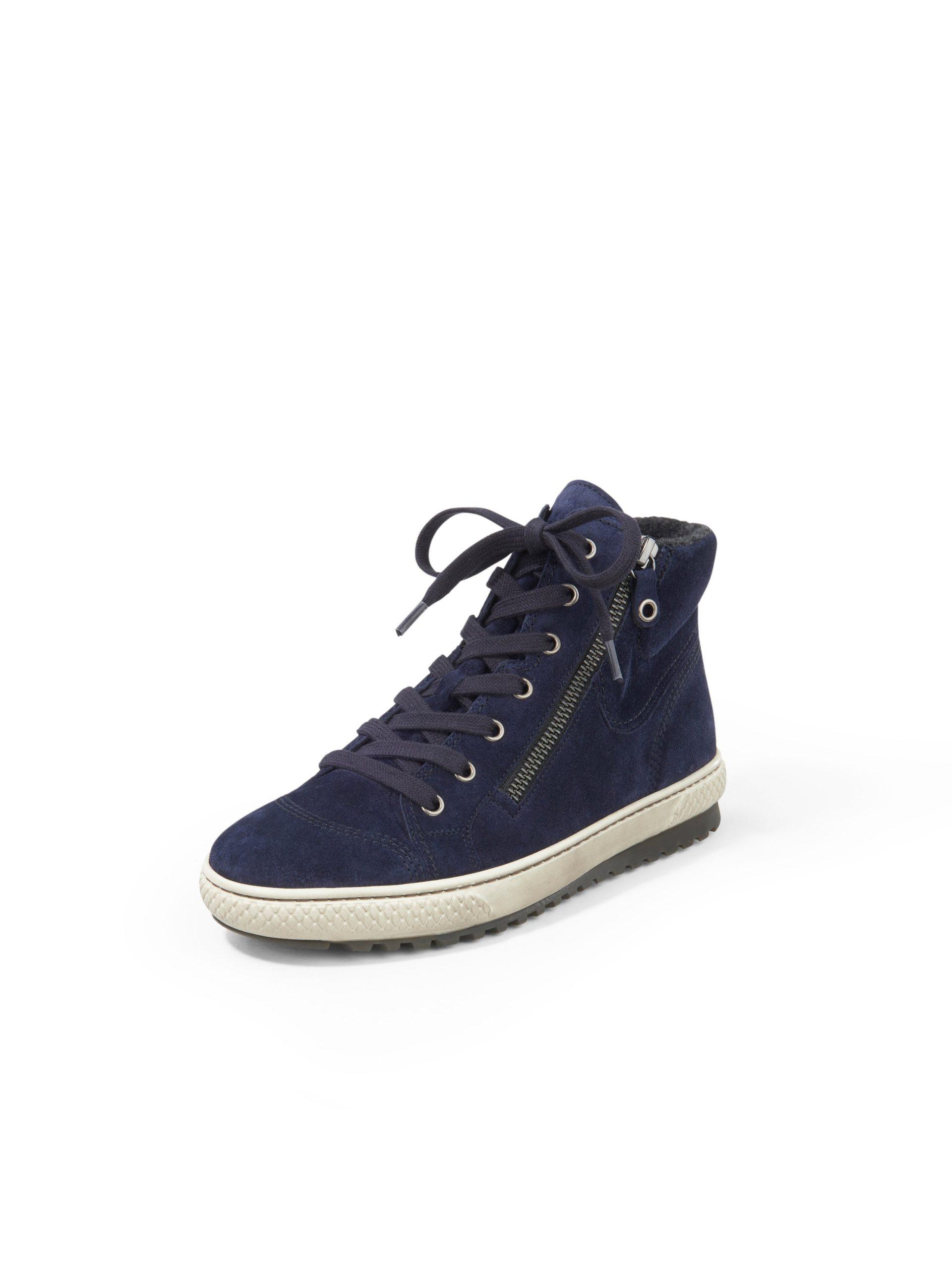 Sneakers van kalfssuède met Opti Fit-voetbed Van Gabor blauw Kopen