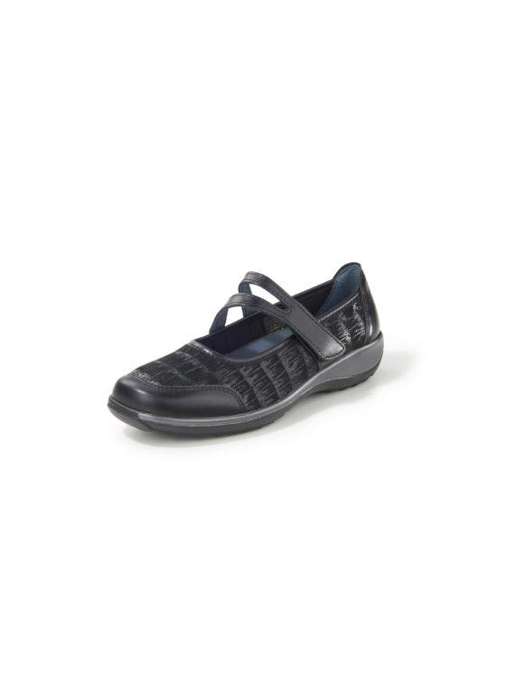 Ballerina's van elastisch textielmateriaal Van Stuppy zwart Kopen