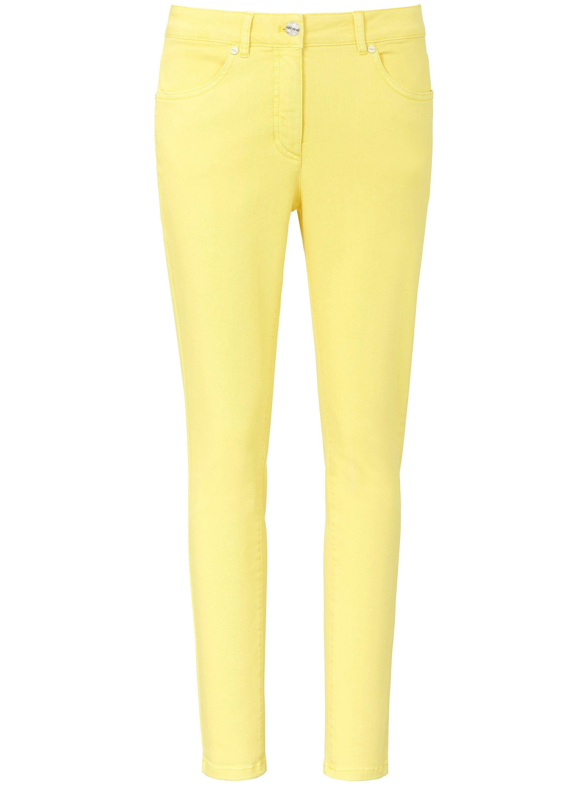 7/8-jeans in extra smal 4-pocketsmodel Van Looxent geel Kopen
