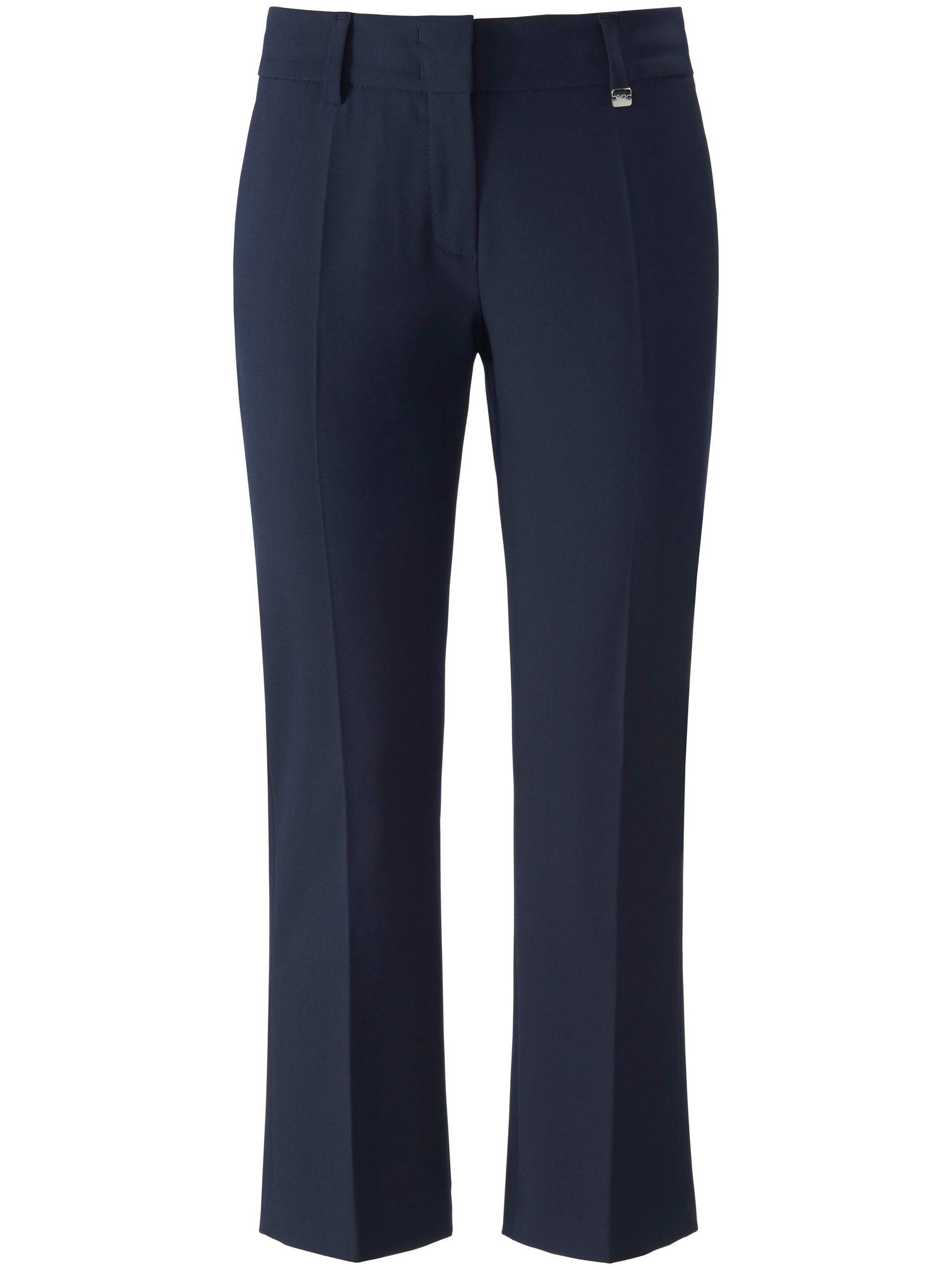 7/8-broek model Dora Cropped met riemlussen Van Raffaello Rossi blauw Kopen