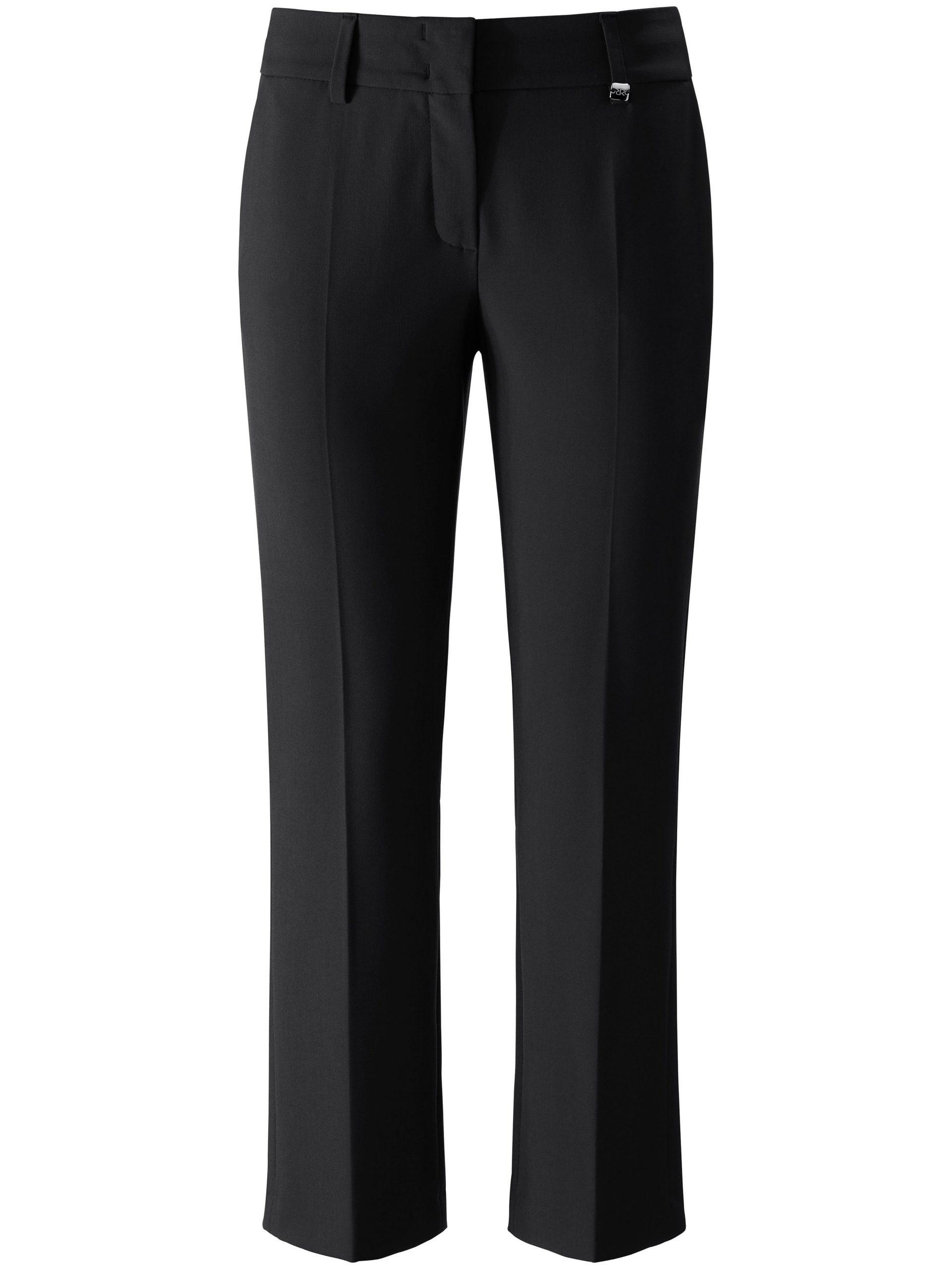7/8-broek model Dora Cropped met riemlussen Van Raffaello Rossi zwart Kopen