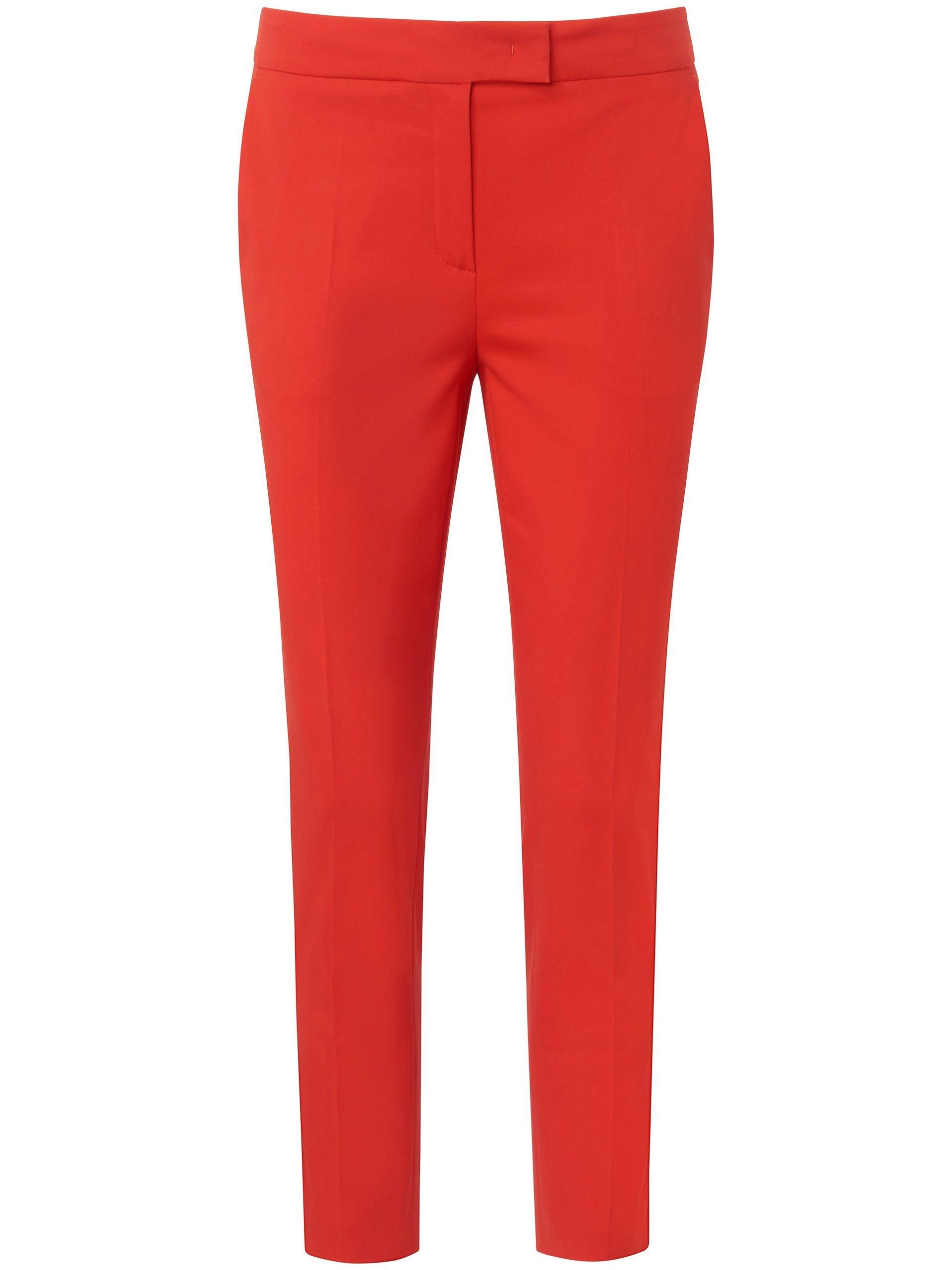 7/8-broek in zachte kwaliteit met stretcheffect Van Laura Biagiotti Roma rood Kopen