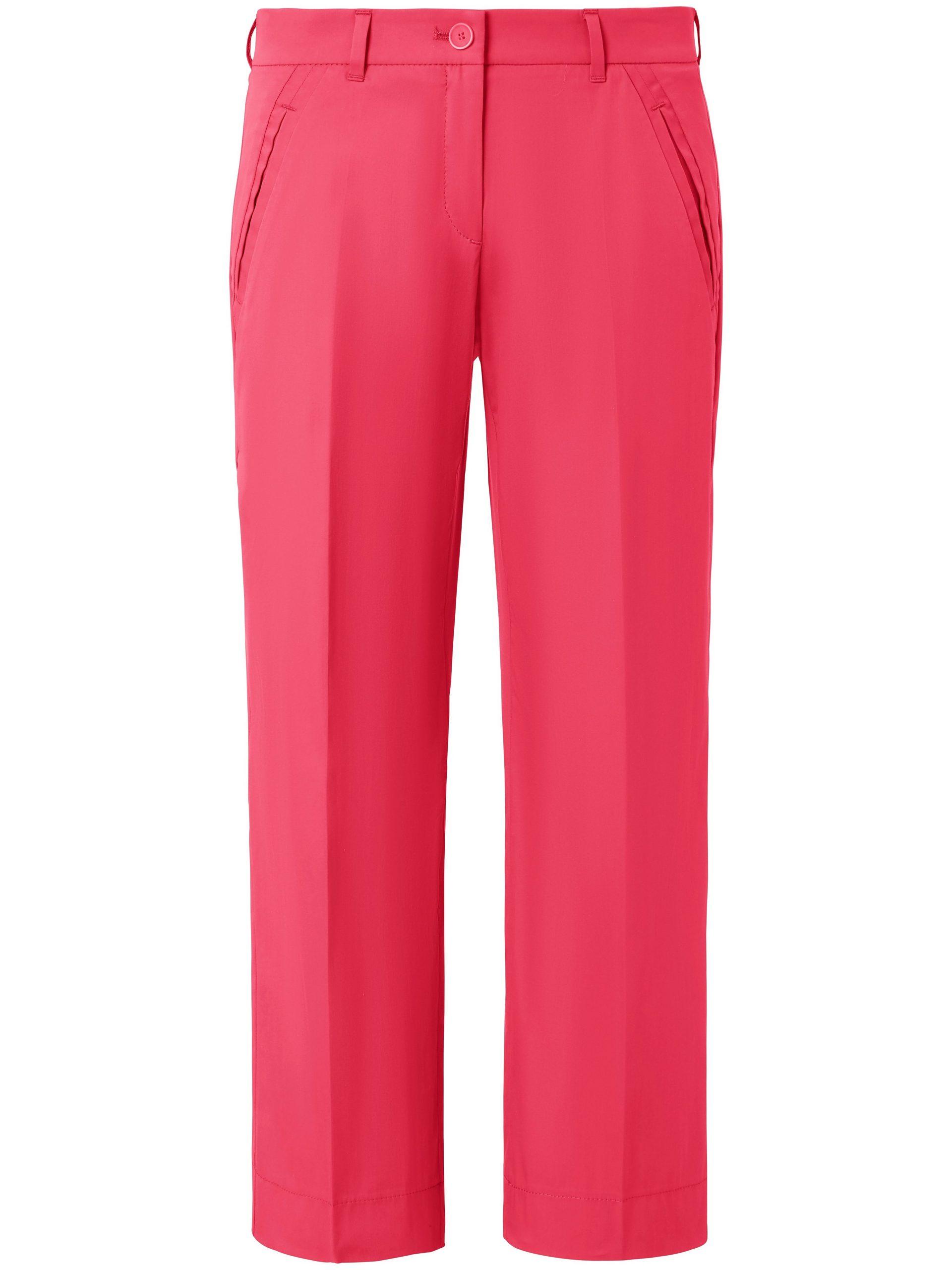 Wide Fit-7/8-broek model Maine S wijde pijpen Van Brax Feel Good roze Kopen