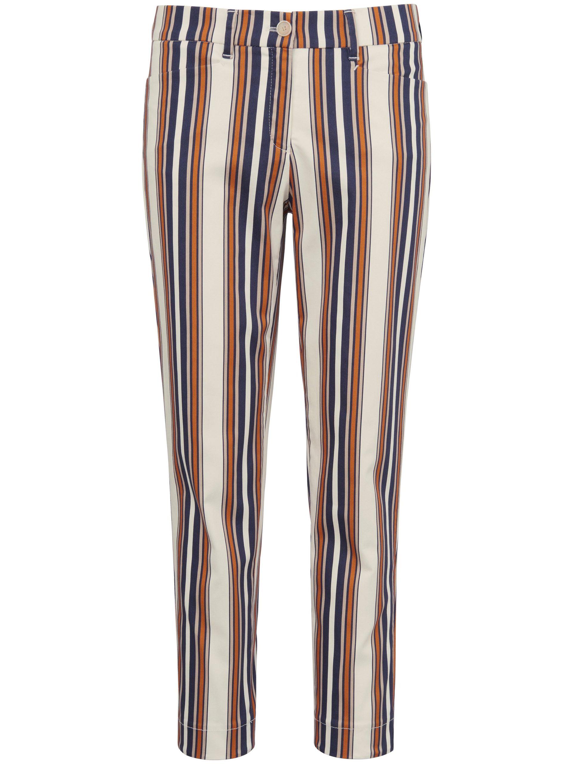 7/8-broek model Mara met pasvorm Slim Fit Van Brax Feel Good multicolour Kopen