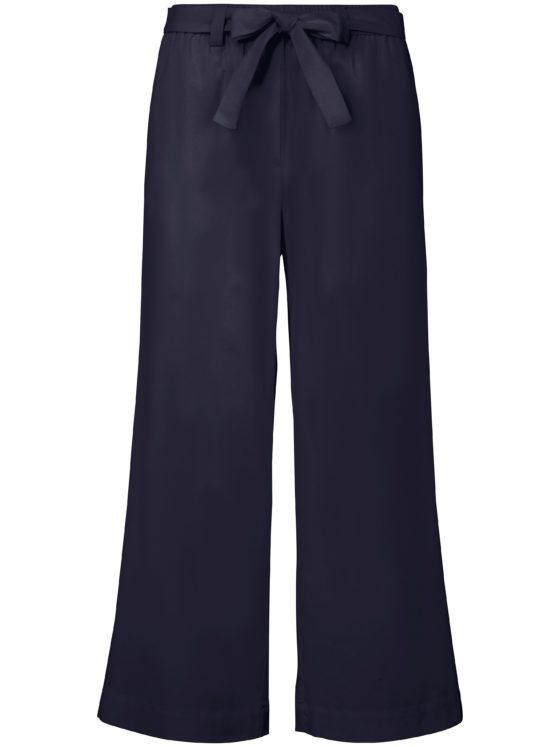 7/8-broek pasvorm Cornelia wijde pijpen Van MYBC blauw Kopen