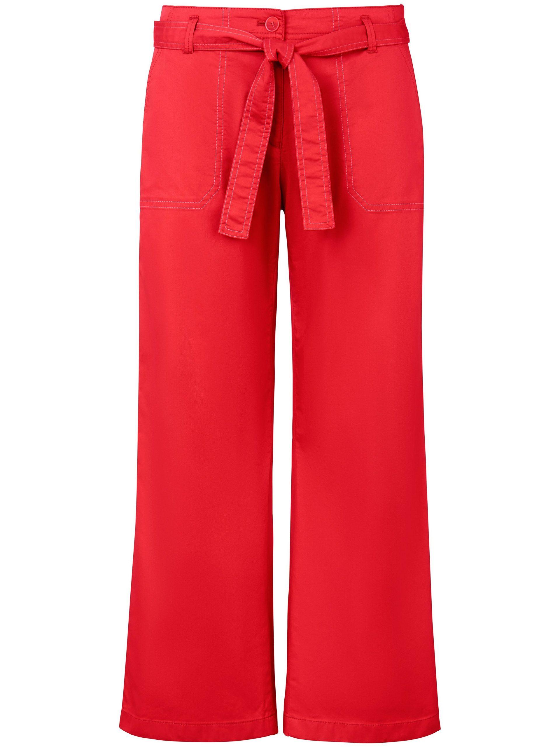 7/8-broek model Maine S Van Brax Feel Good rood Kopen