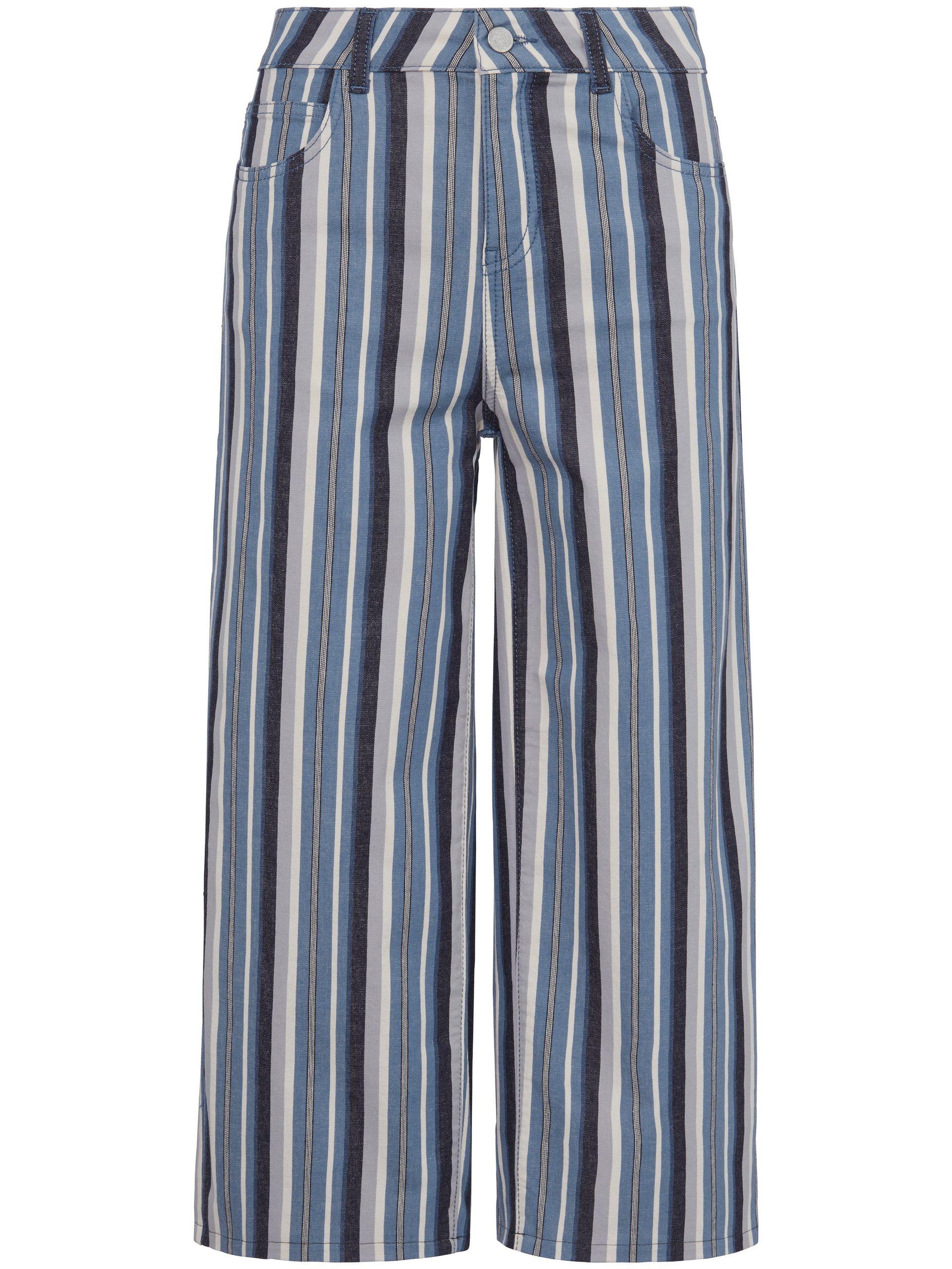7/8-jeans pasvorm Cornelia in 5-pocketsmodel Van Peter Hahn blauw Kopen