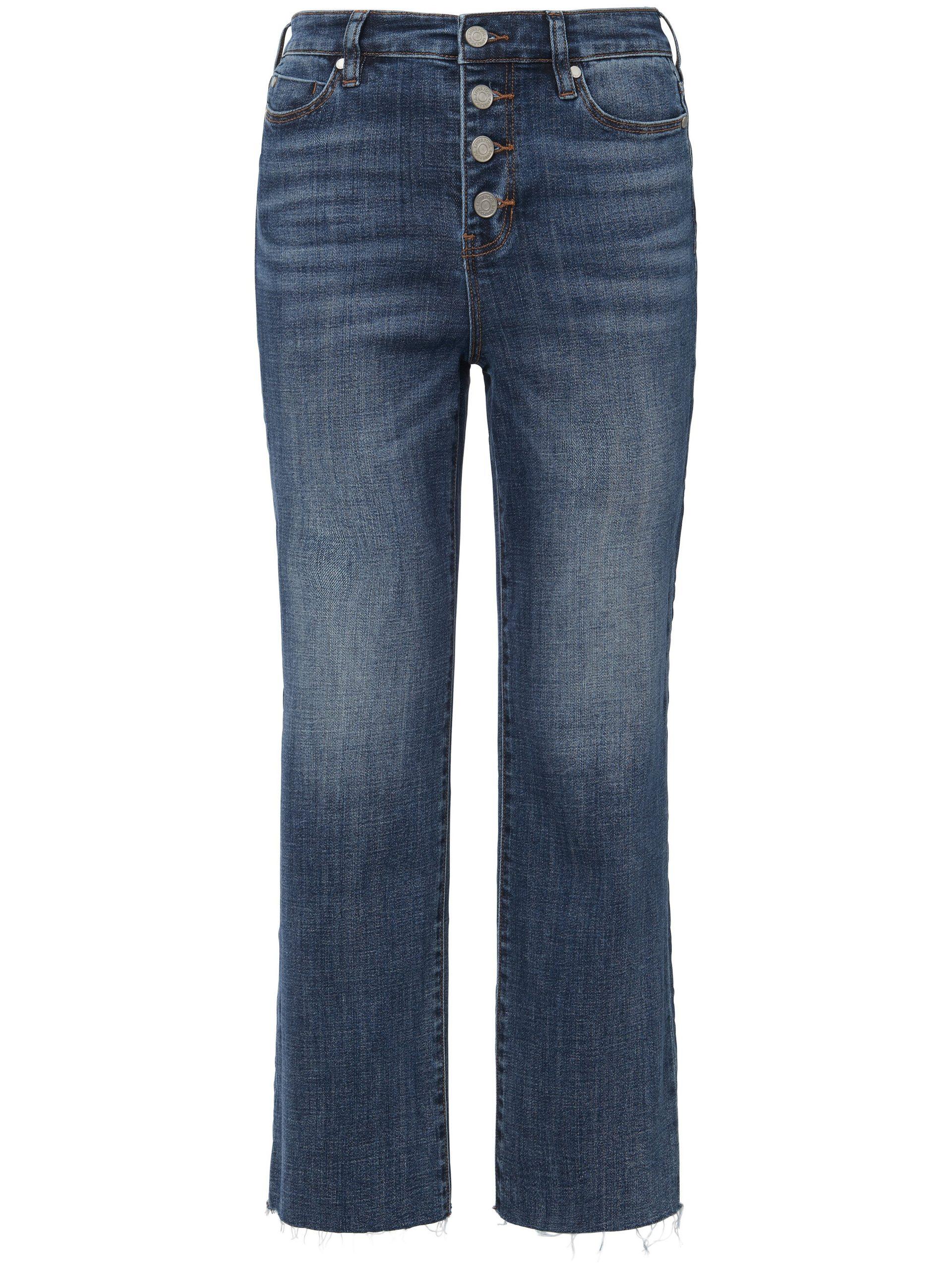 7/8-jeans in five-pocketsmodel met knoopsluiting Van LIVERPOOL denim Kopen