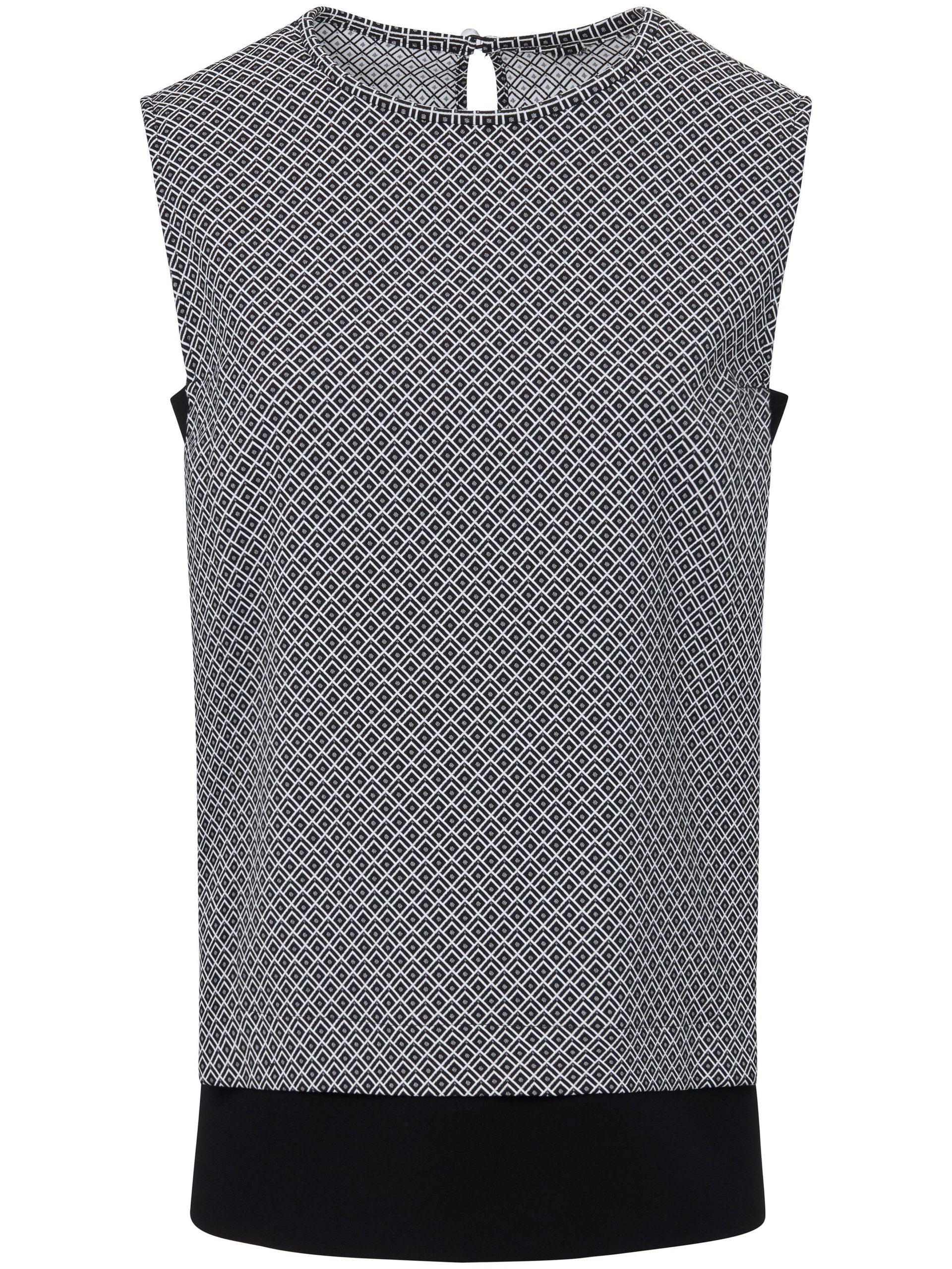 Mouwloos shirt in recht model Van St. Emile multicolour Kopen