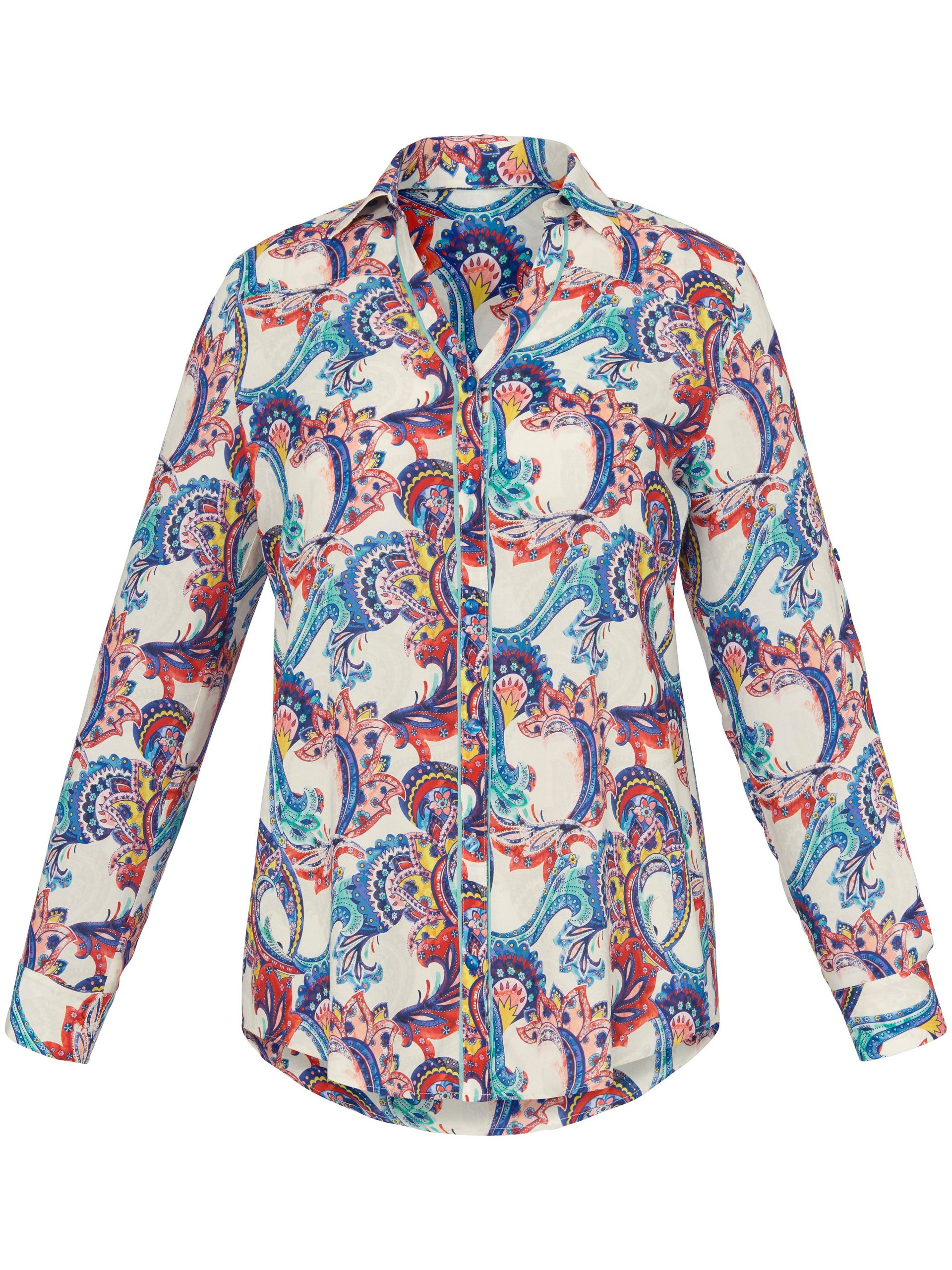 Blouse met lange mouwen Van Emilia Lay multicolour Kopen