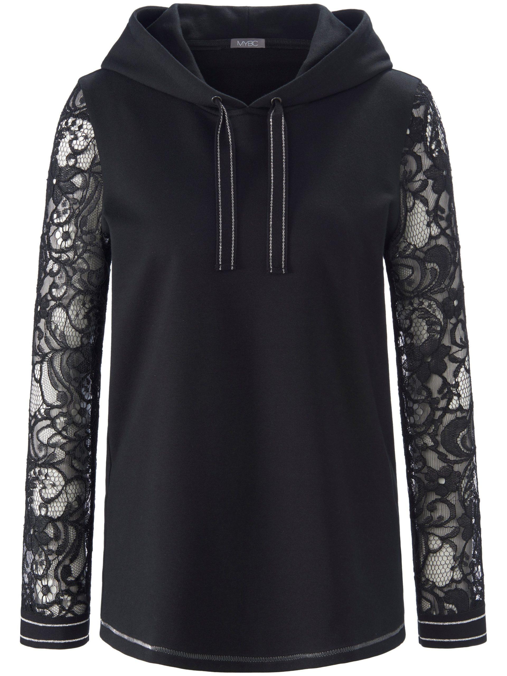 Sweatshirt met lange mouwen Van MYBC zwart Kopen