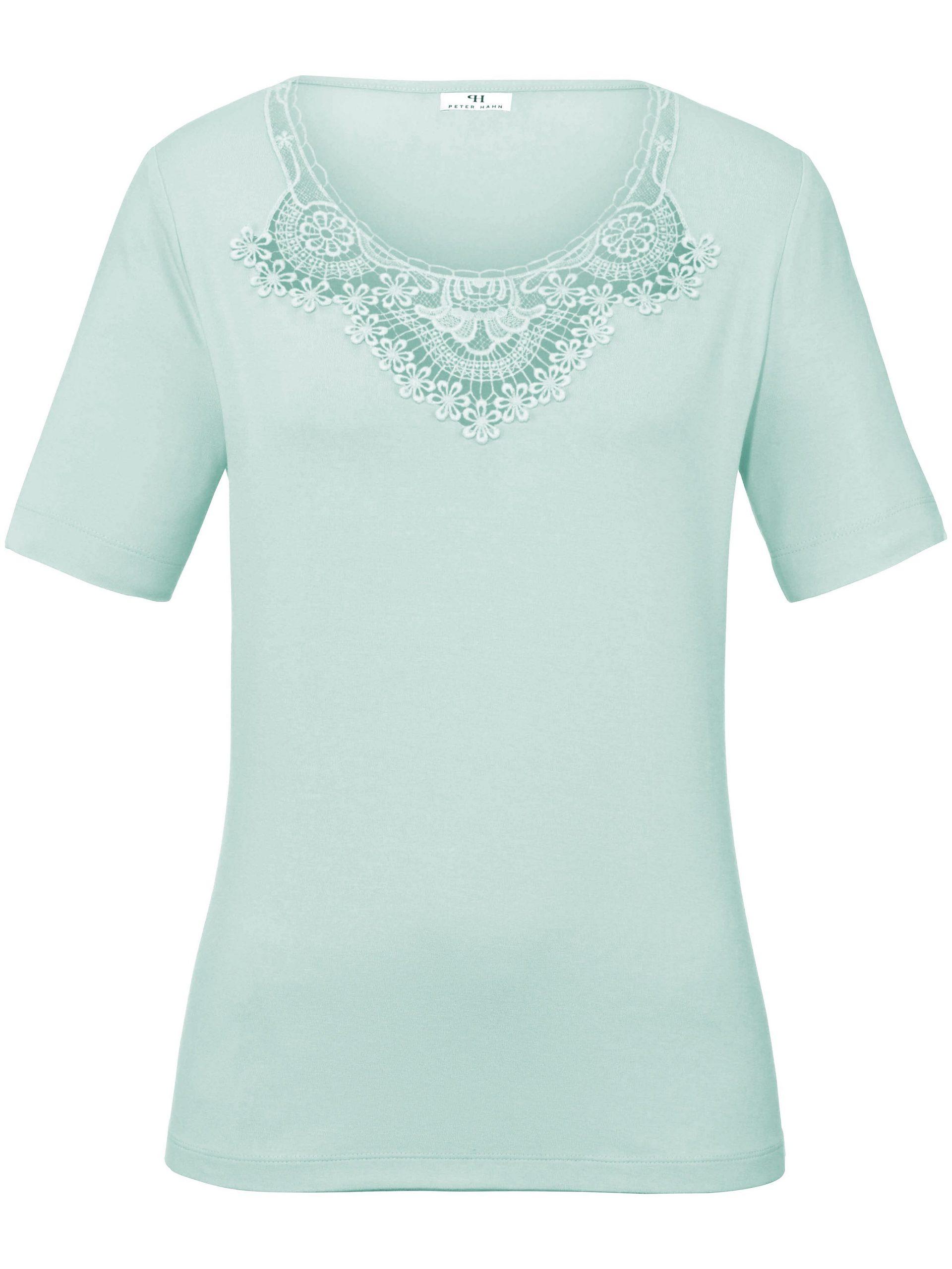 Shirt met ronde hals Van Peter Hahn groen Kopen