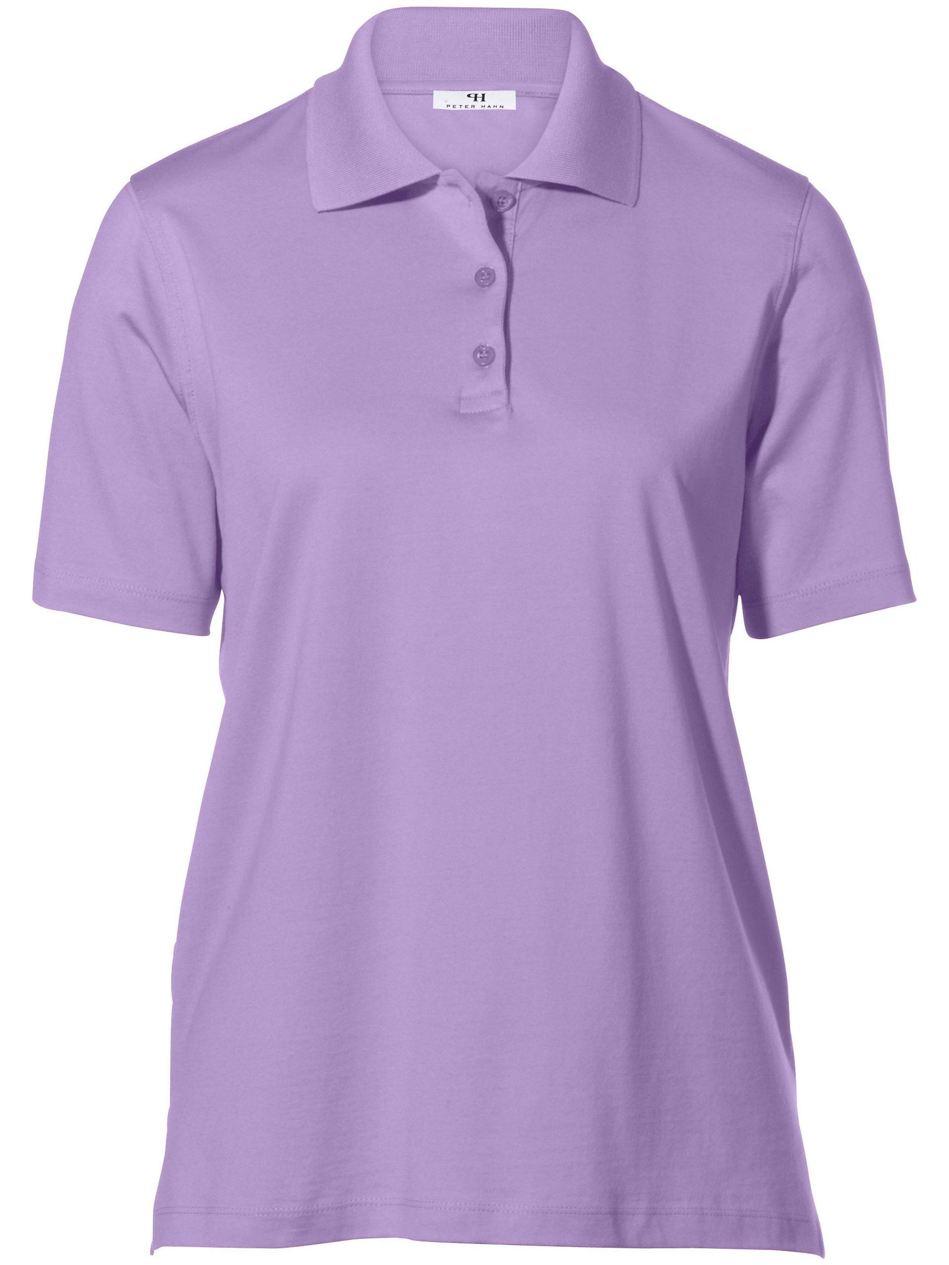 Poloshirt met korte mouwen Van Peter Hahn paars Kopen