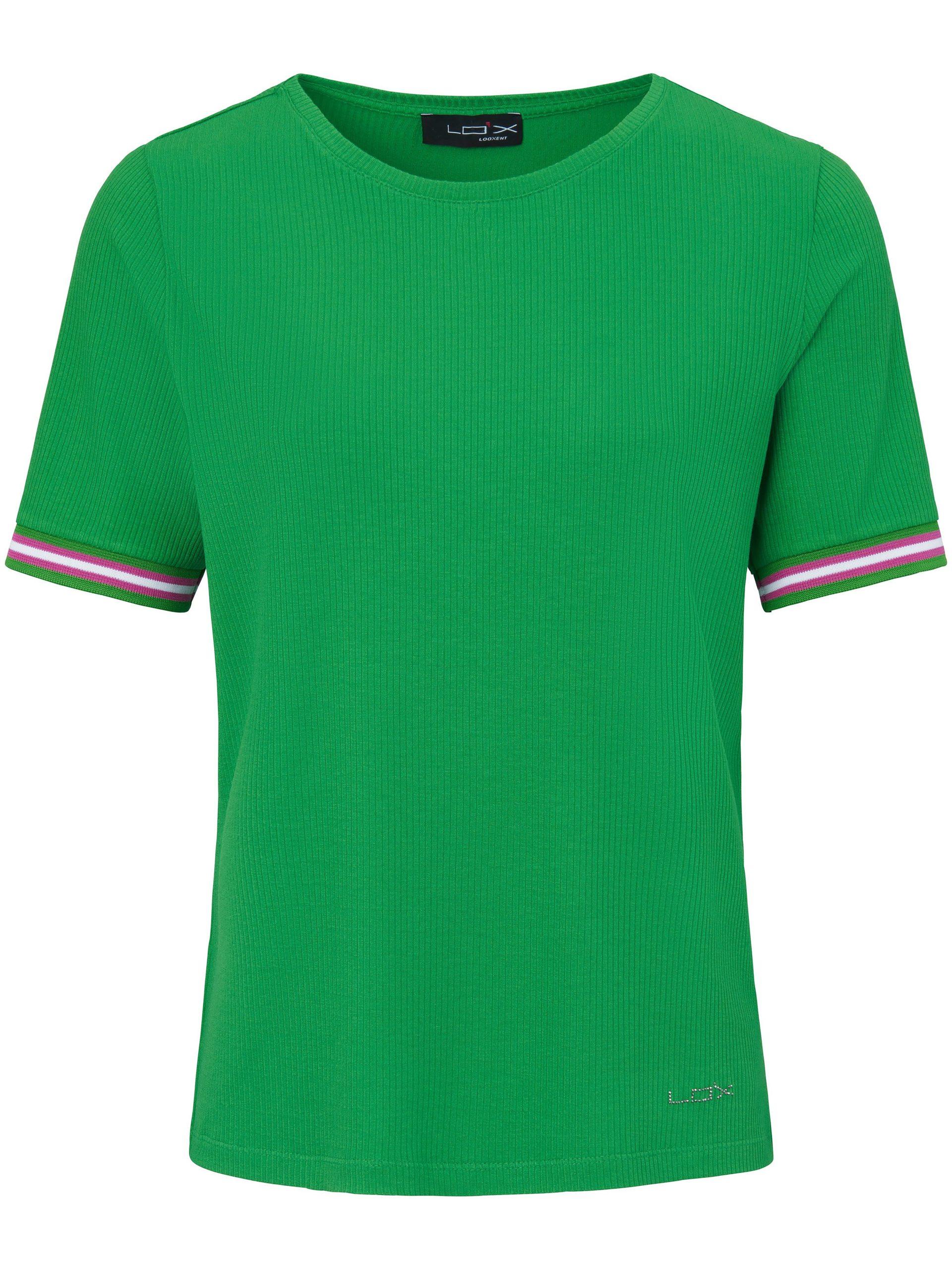 Shirt met ronde hals en korte mouwen Van Looxent groen Kopen