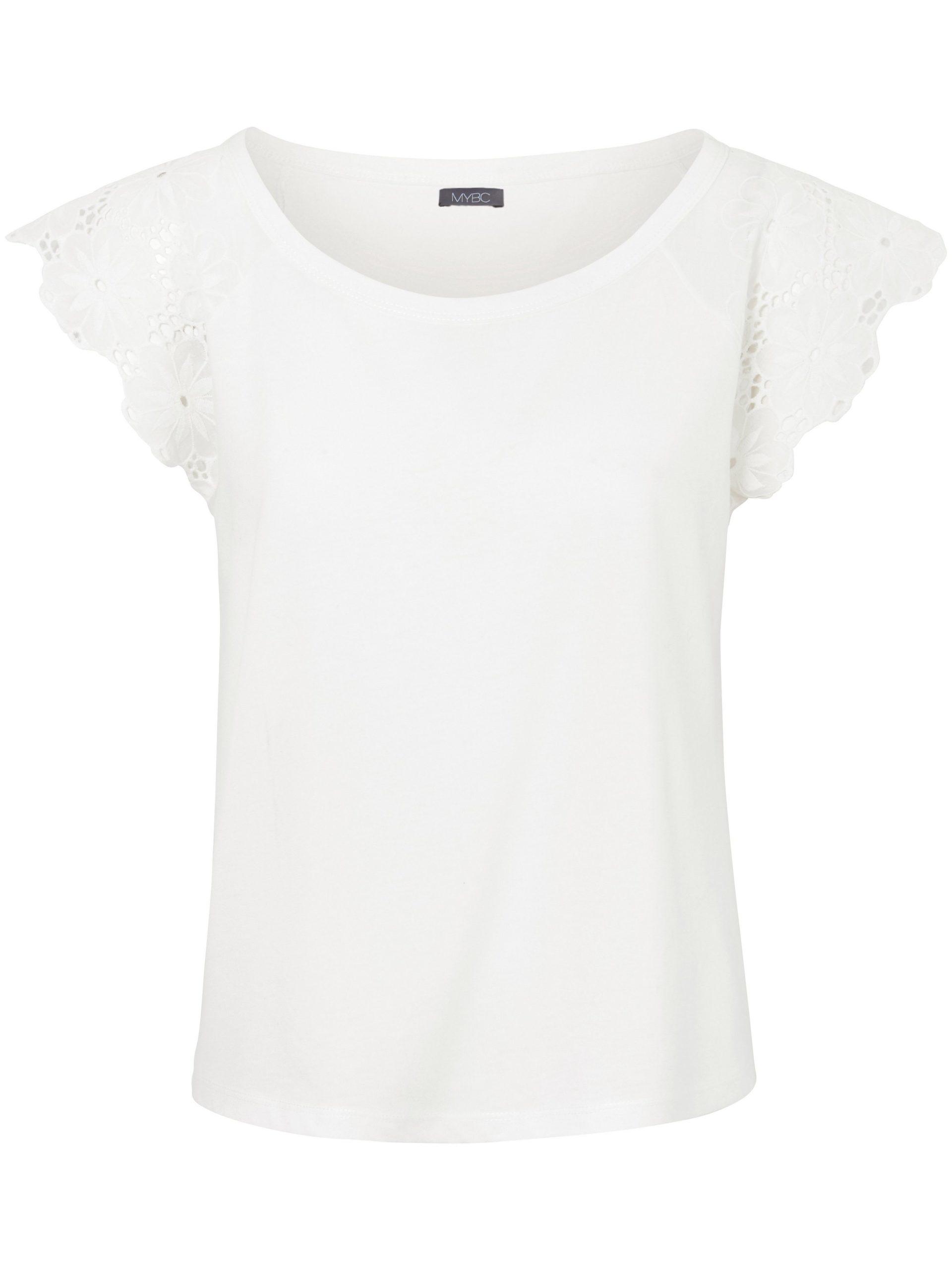 Mouwloos shirt met ronde hals Van MYBC wit Kopen