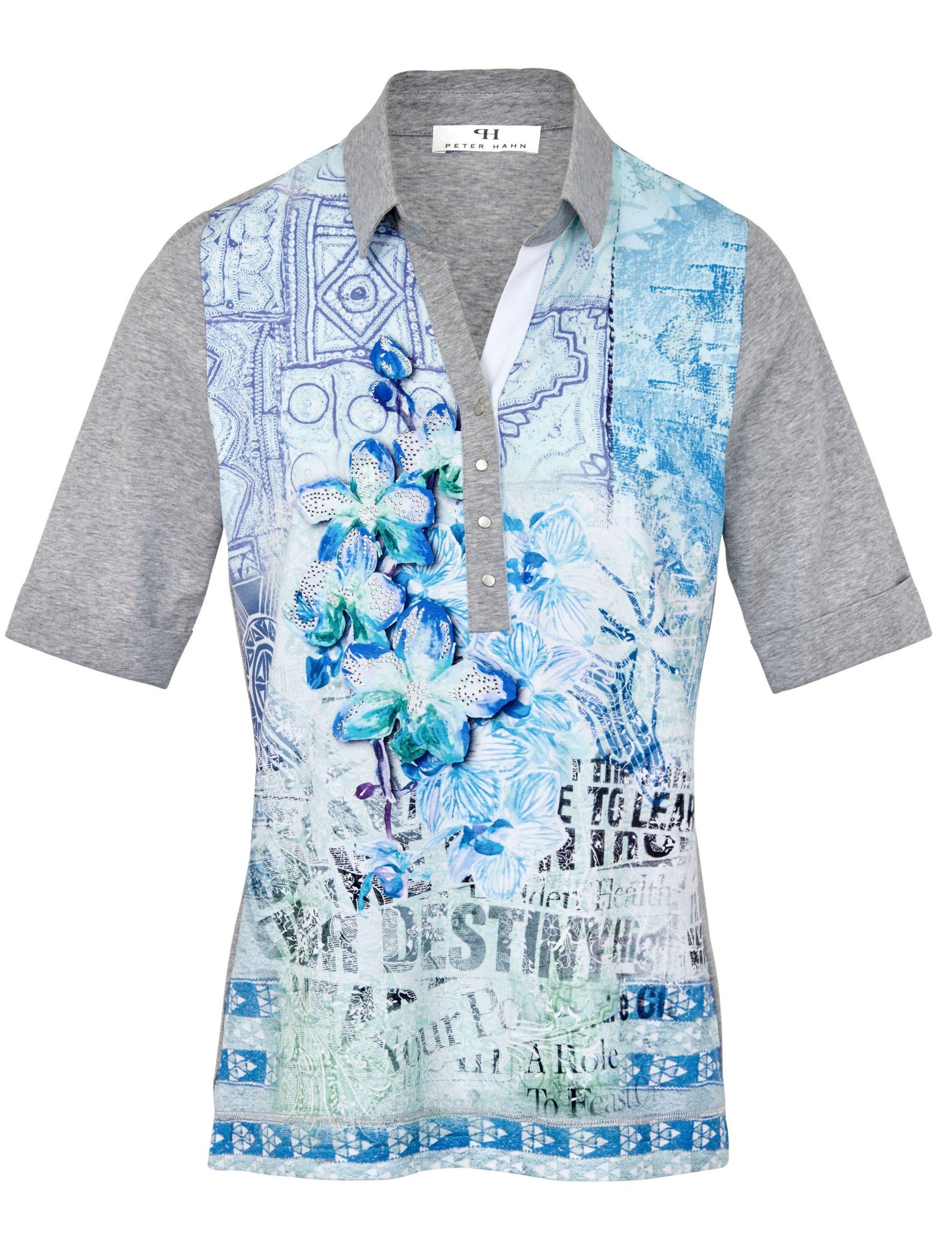 Poloshirt met korte mouwen Van Peter Hahn multicolour Kopen