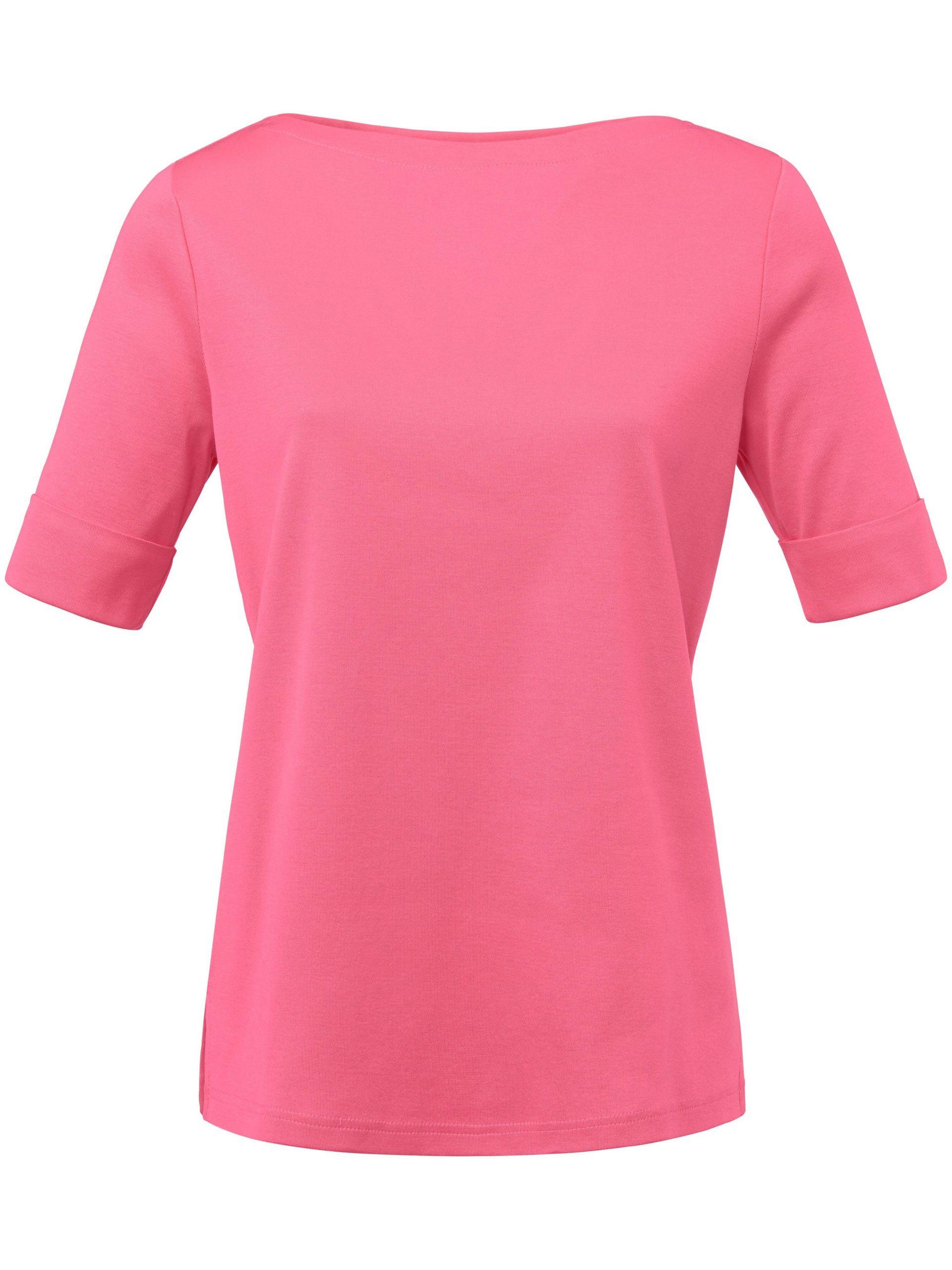 Shirt met boothals Van Efixelle roze Kopen