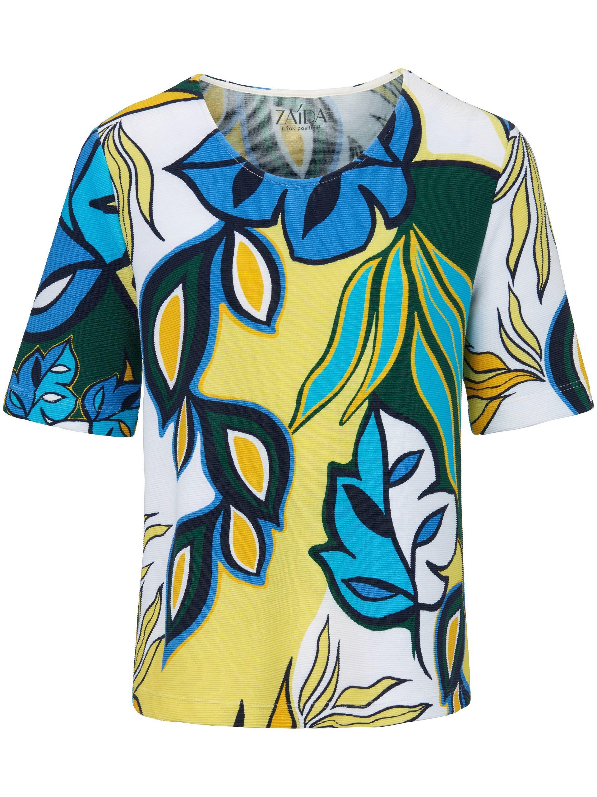 Shirt met ronde hals en korte mouwen Van ZAIDA multicolour Kopen