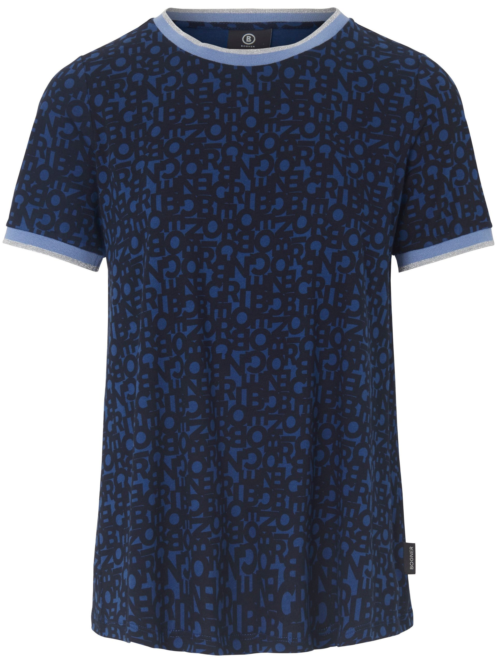 Shirt van 100% katoen Van Bogner blauw Kopen