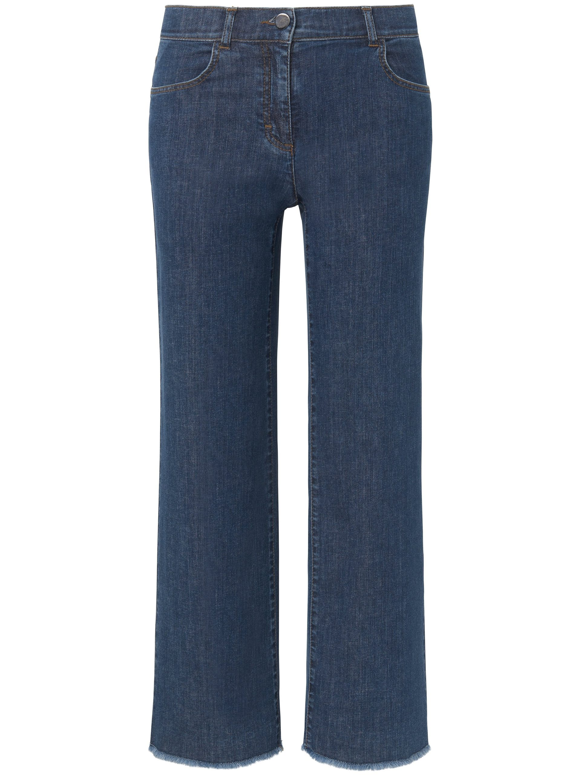 7/8-jeans-culotte franjezoom Van DAY.LIKE denim Kopen