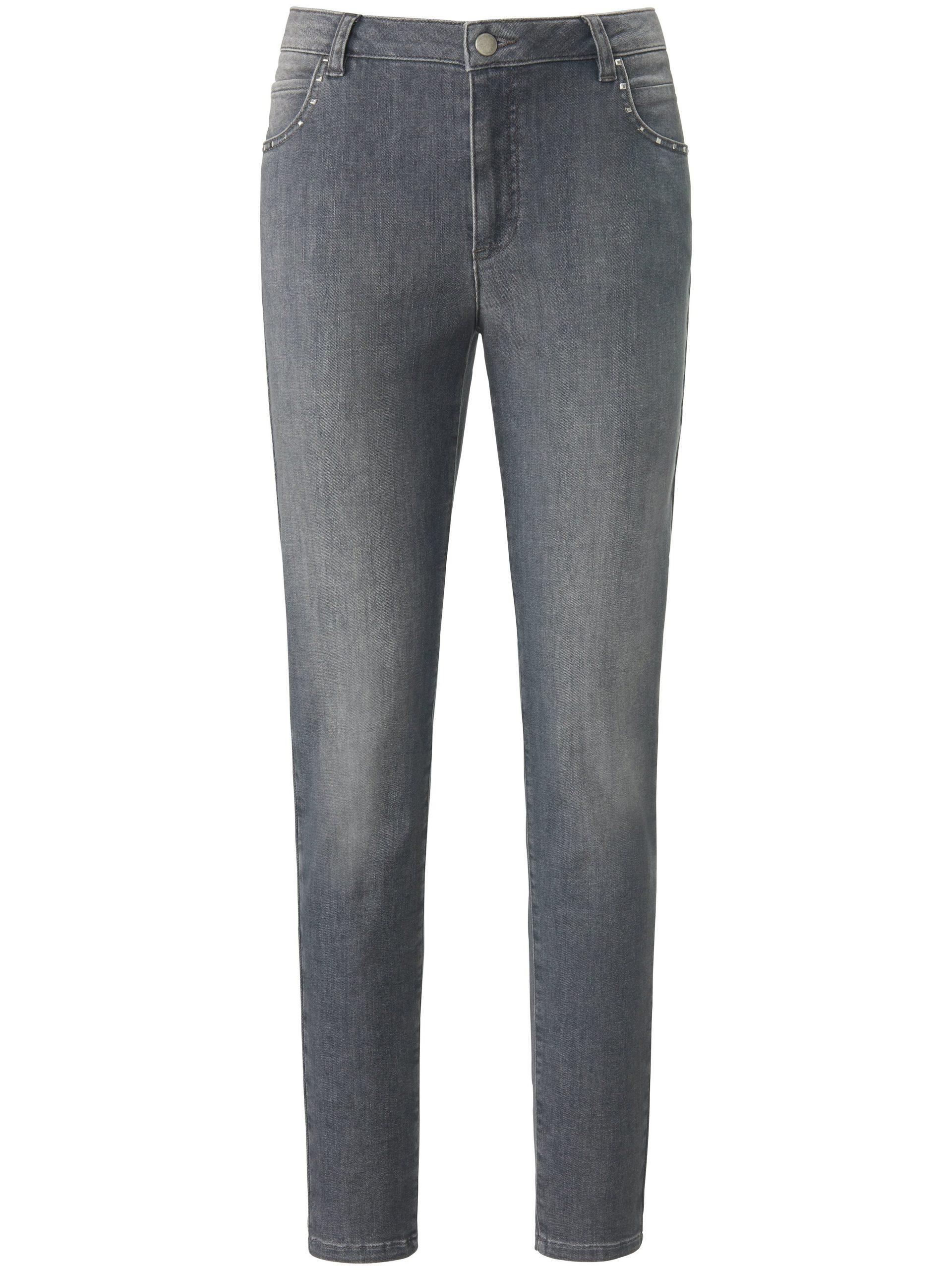 Jeans studs op de zakken voor Van MYBC grijs Kopen